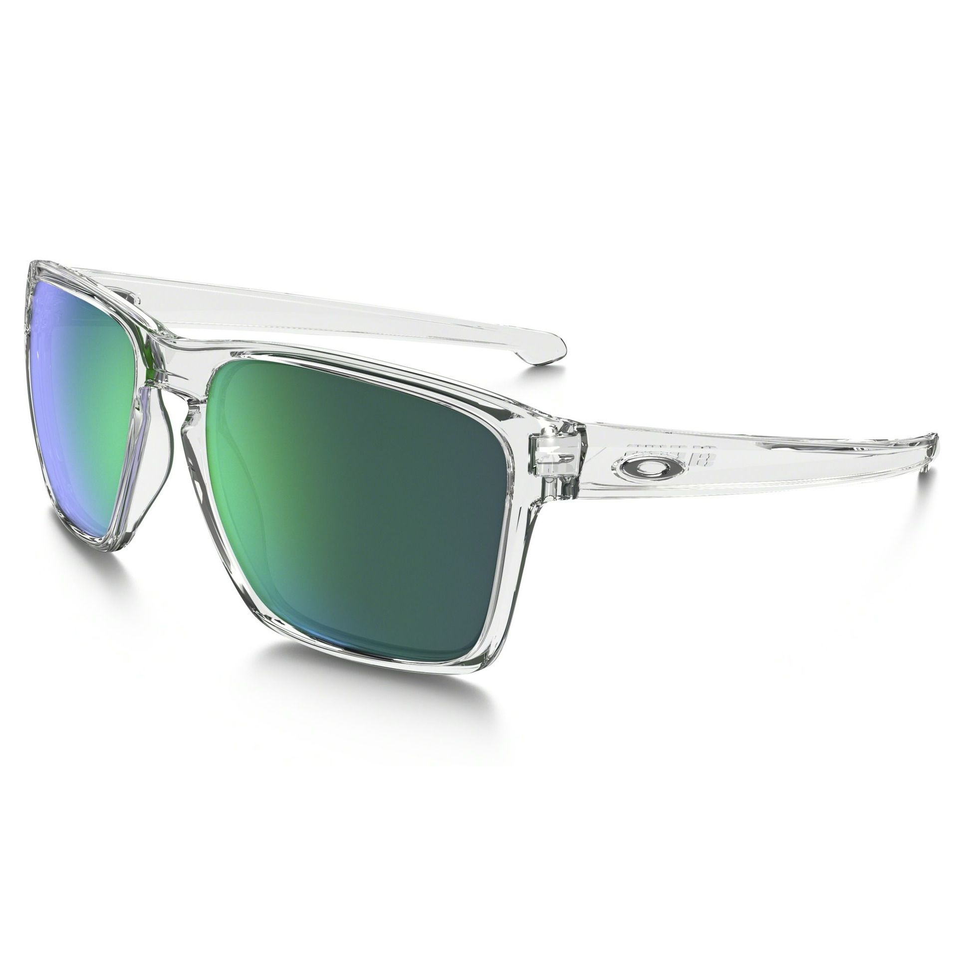OKULARY OAKLEY SLIVER XL POLISHED CLEAR W JADE IRIDIUM