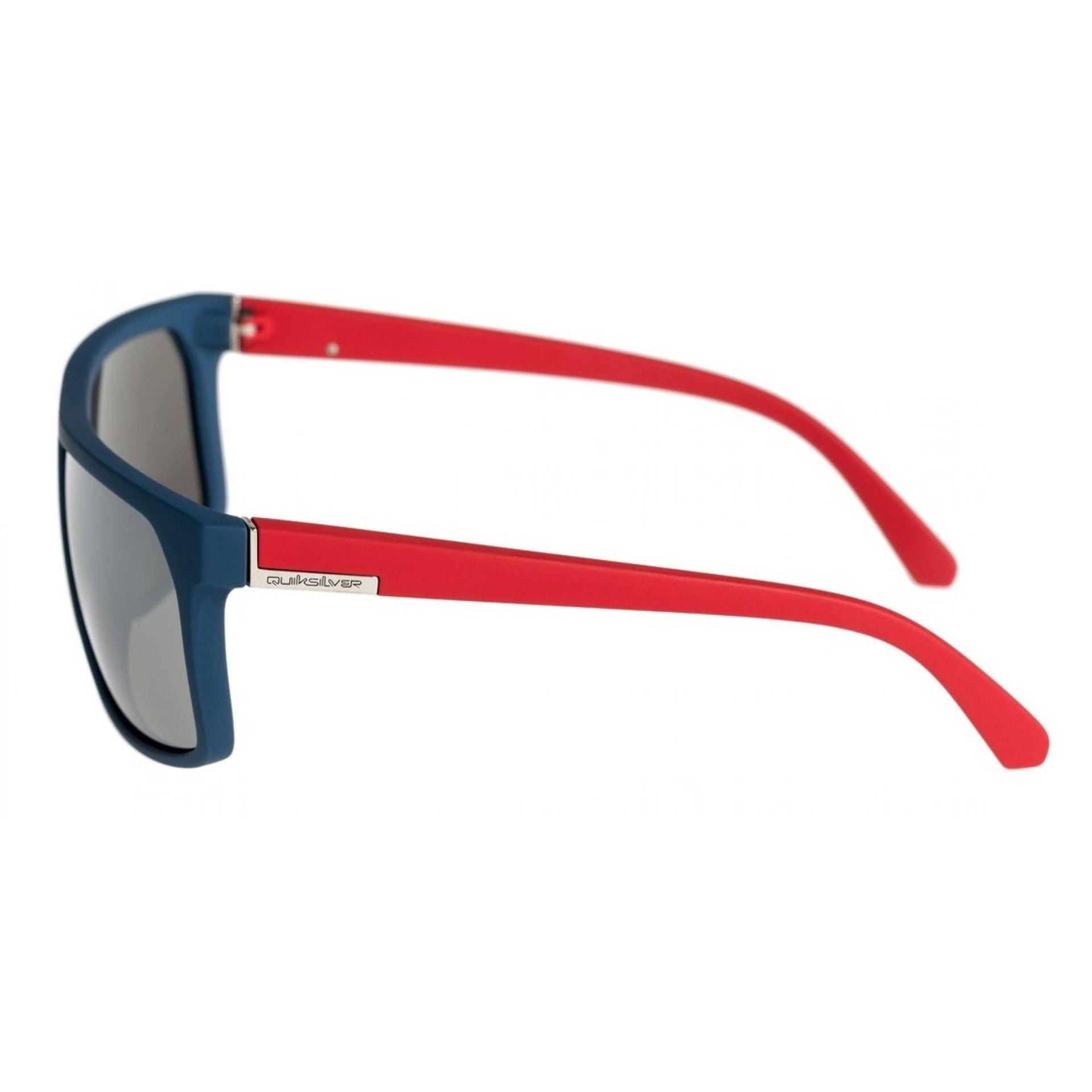 Okulary Quiksilver Moonwalker widok z boku czerwony