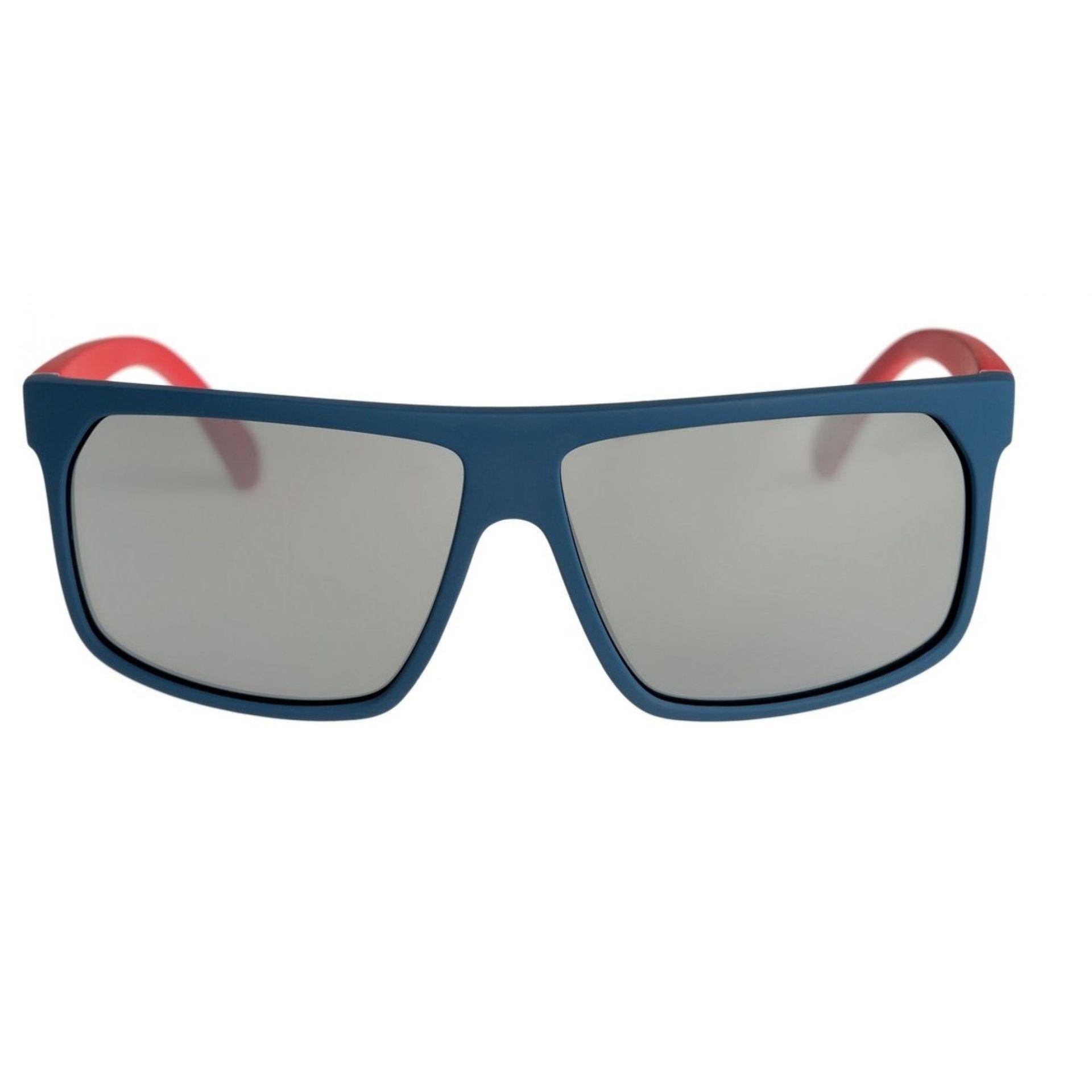 Okulary Quiksilver Moonwalker widok z przodu czerwony