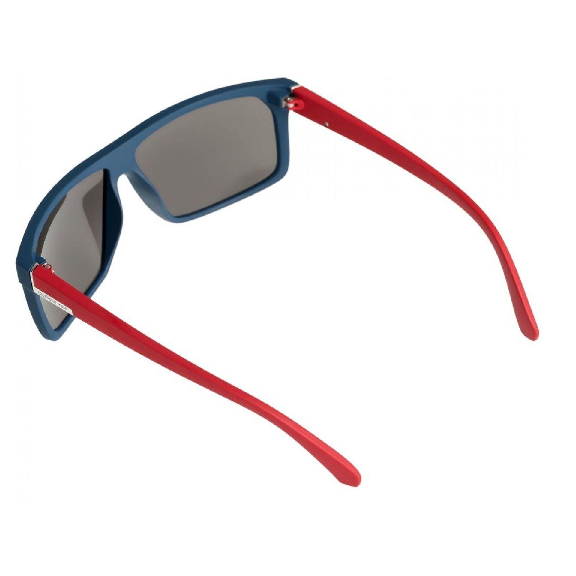 Okulary Quiksilver Moonwalker widok z tyłu czerwony