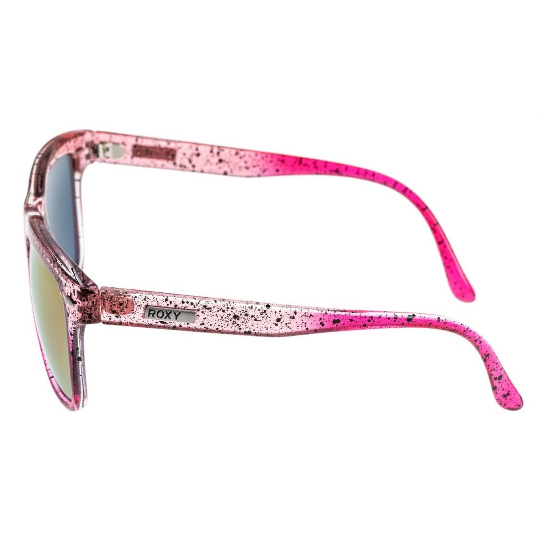 Okulary Roxy Miller J widok z boku różowy