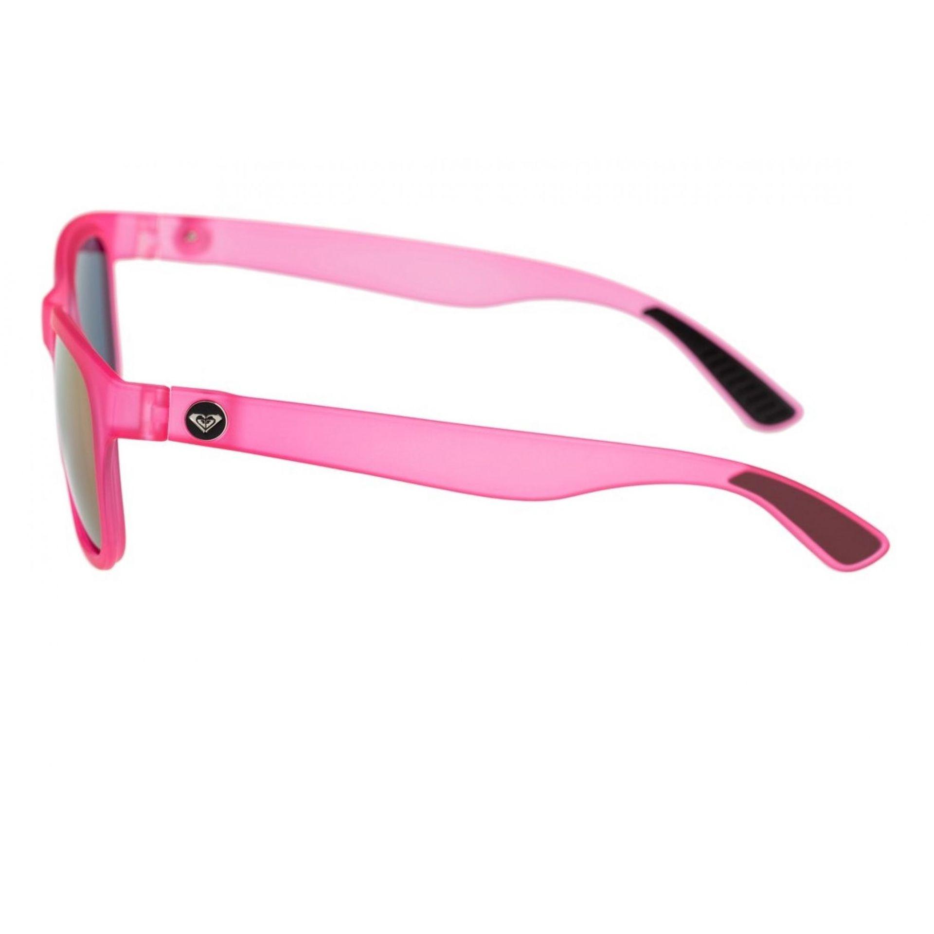 Okulary Roxy Runaway widok z boku różowy