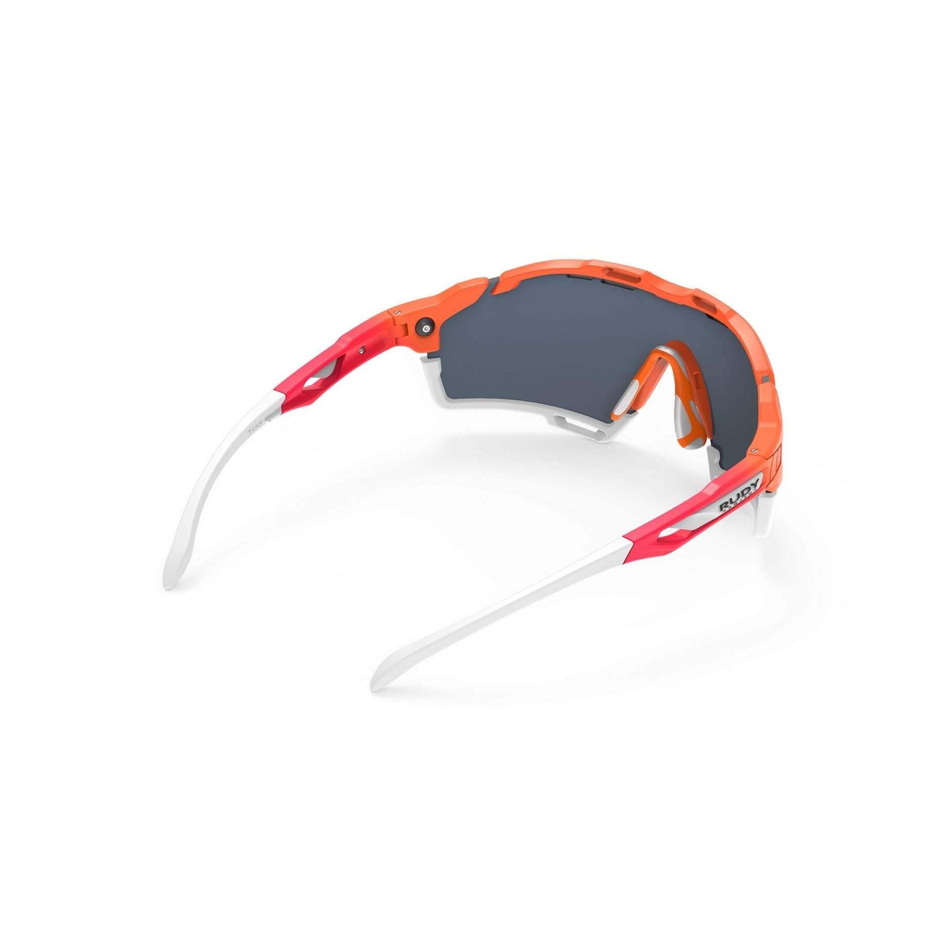 OKULARY RUDY PROJECT CUTLINE MULTILASER RED + MANDARINE FADE|CORAL SP633846|0011 TYŁ