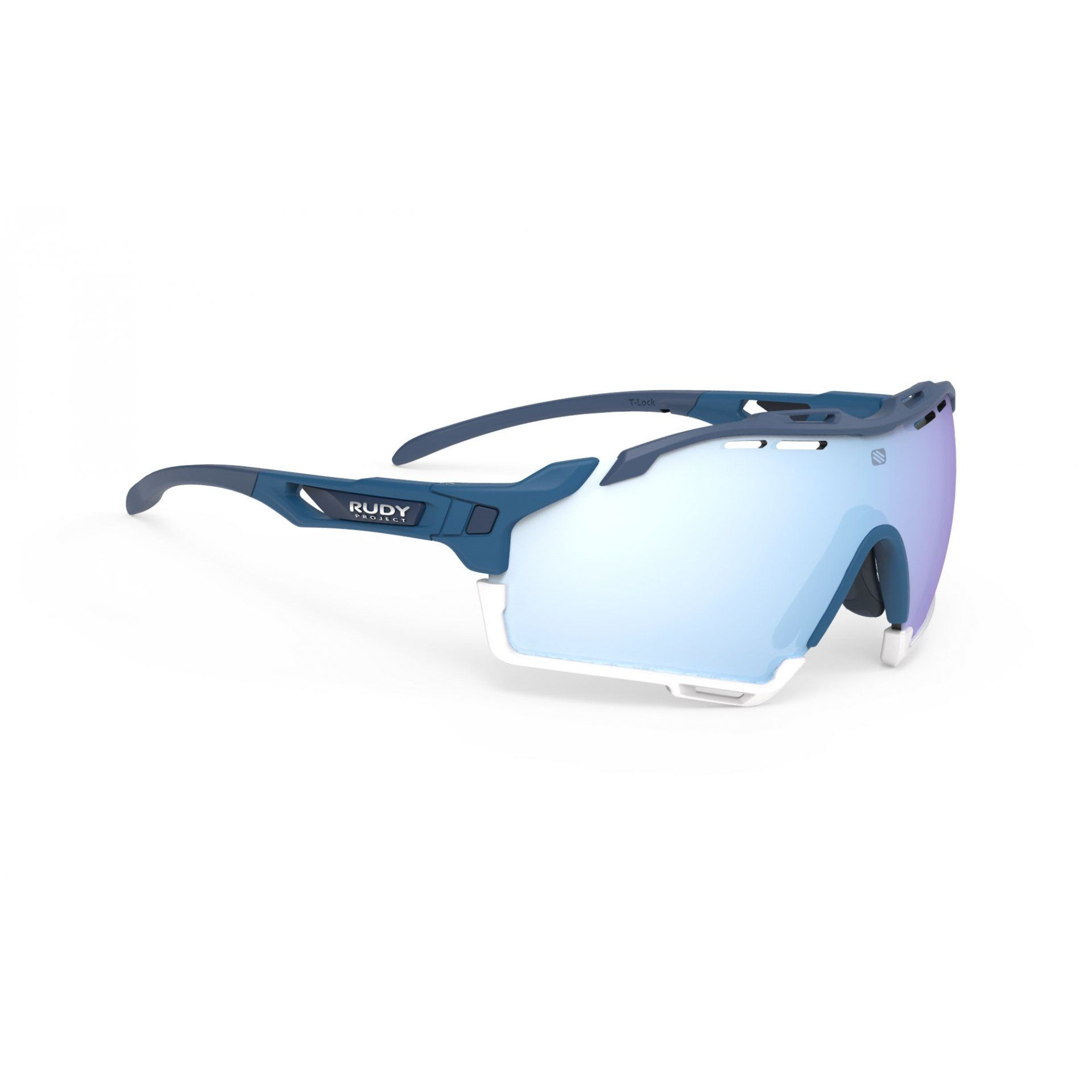 OKULARY RUDY PROJECT CUTLINE PACIFIC BLUE MATTE+MULTILASER ICE 1