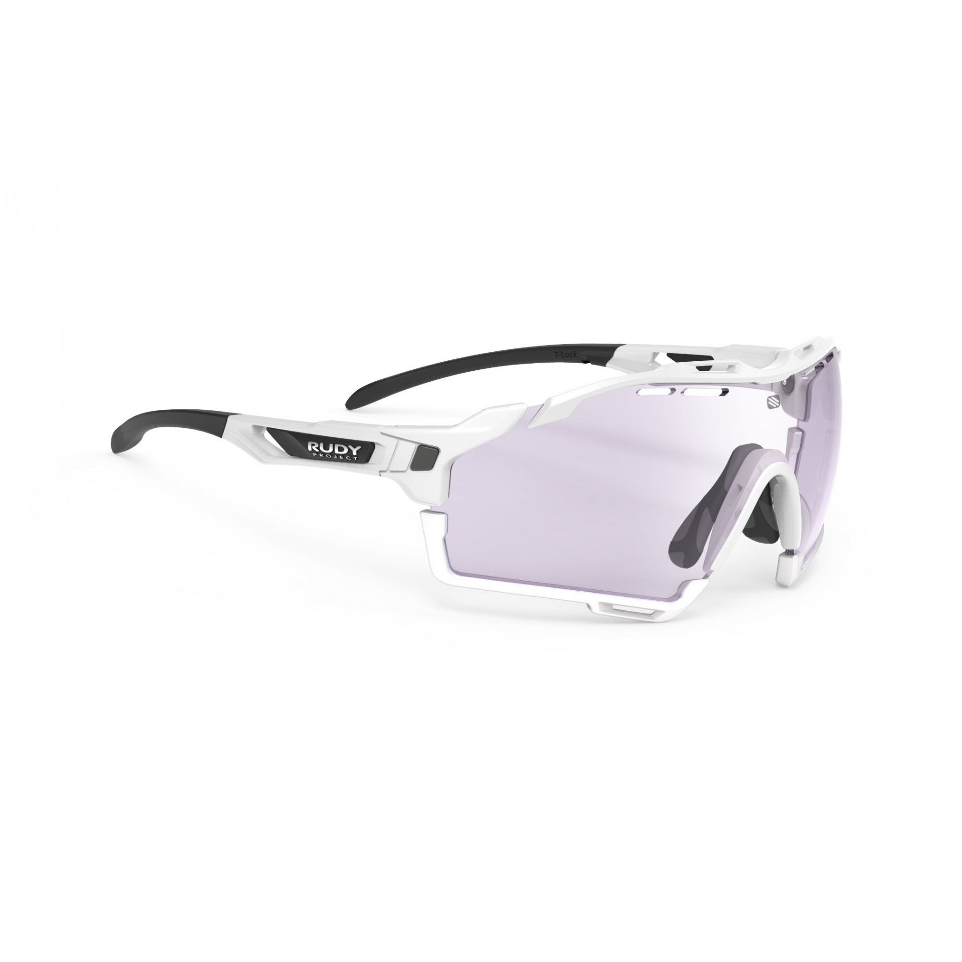 OKULARY RUDY PROJECT CUTLINE WHITE GLOSS+PHOTOCHROMIC LASER PURPLE 1