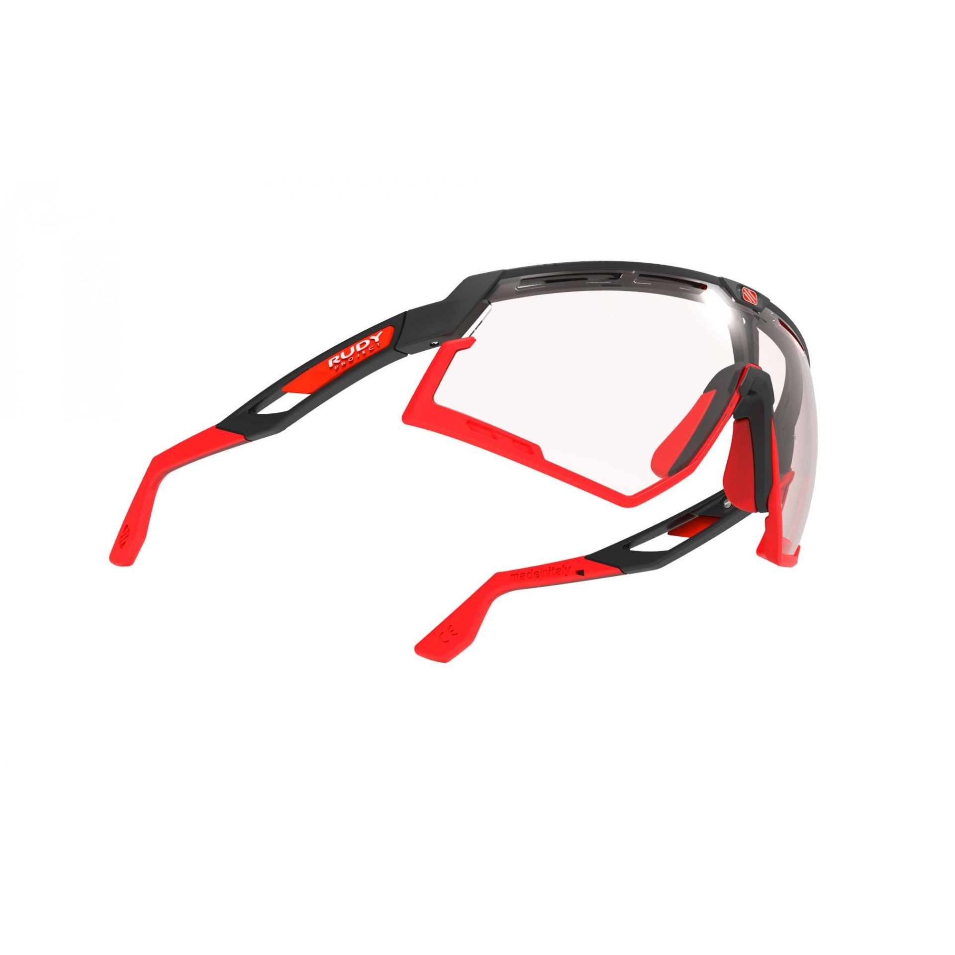 OKULARY RUDY PROJECT DEFENDER BLACK MATTE+PHOTOCHROMIC RED 3