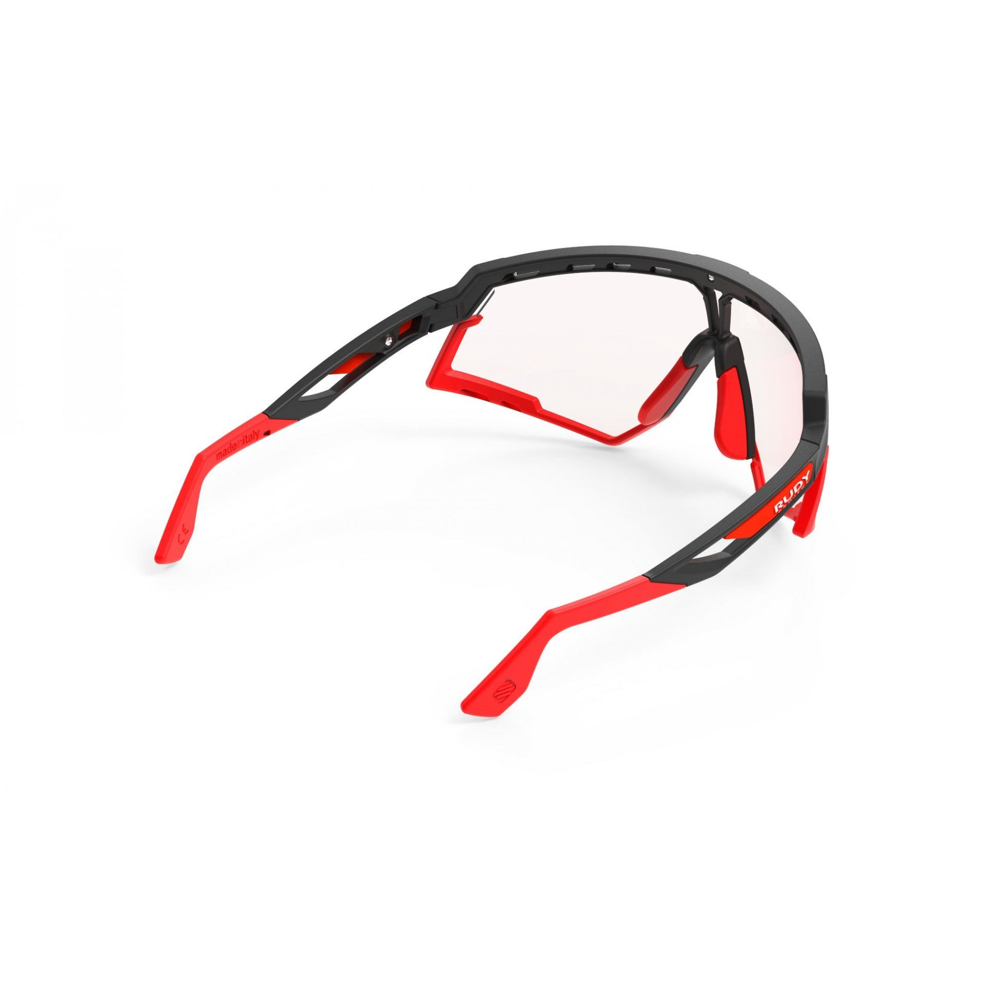 OKULARY RUDY PROJECT DEFENDER BLACK MATTE+PHOTOCHROMIC RED 5