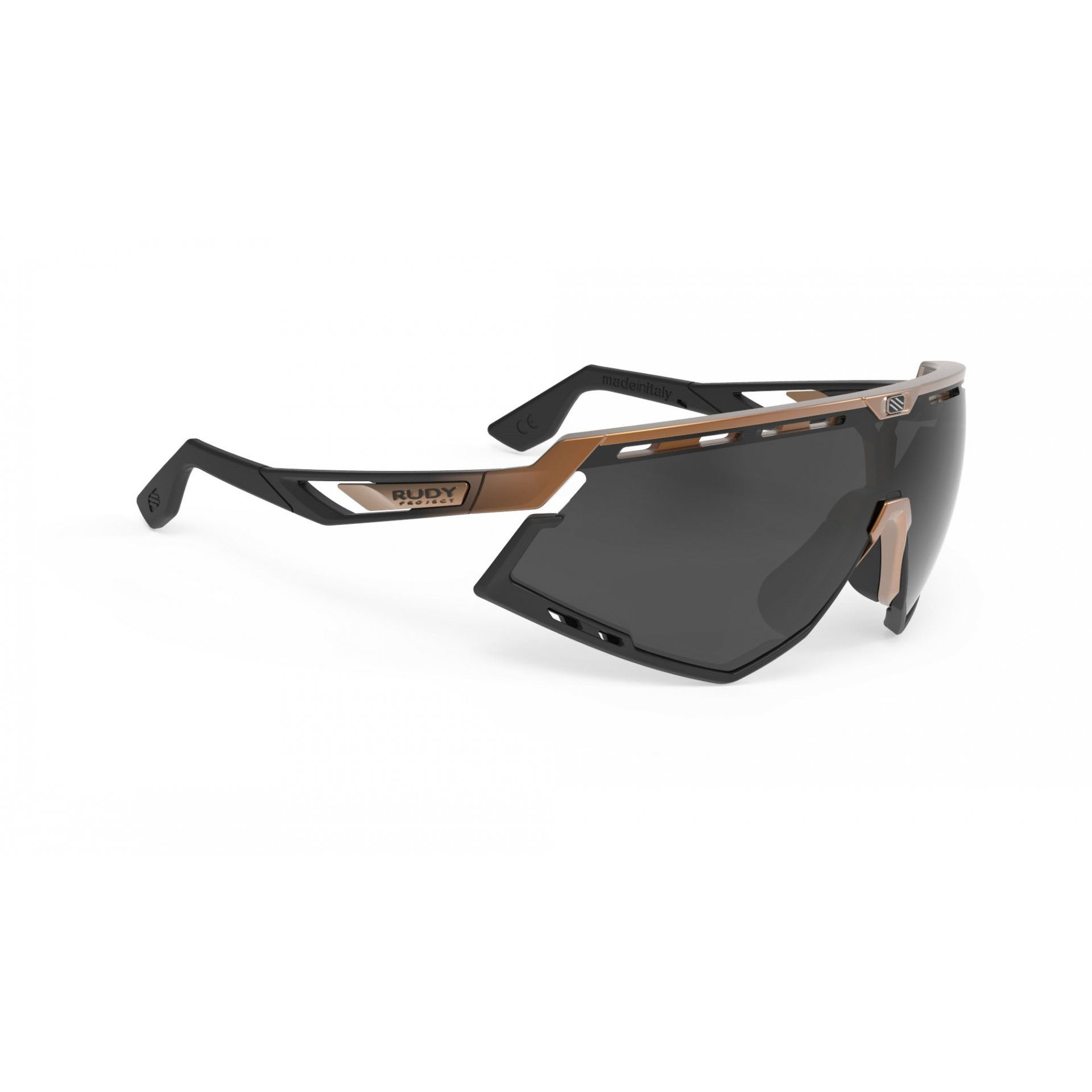 OKULARY RUDY PROJECT DEFENDER BRONZE MATTE|BLACK+SMOKE BLACK 1