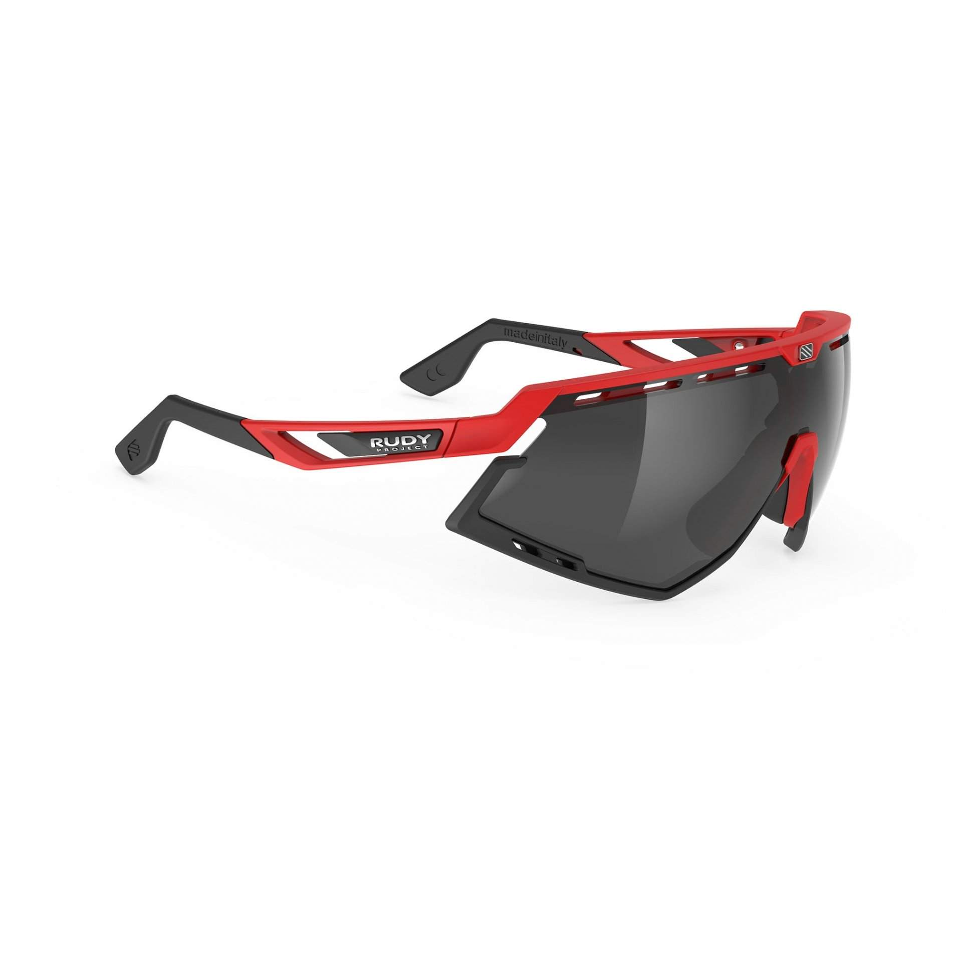 OKULARY RUDY PROJECT DEFENDER FIRE RED MATTE|SMOKE BLACK 1