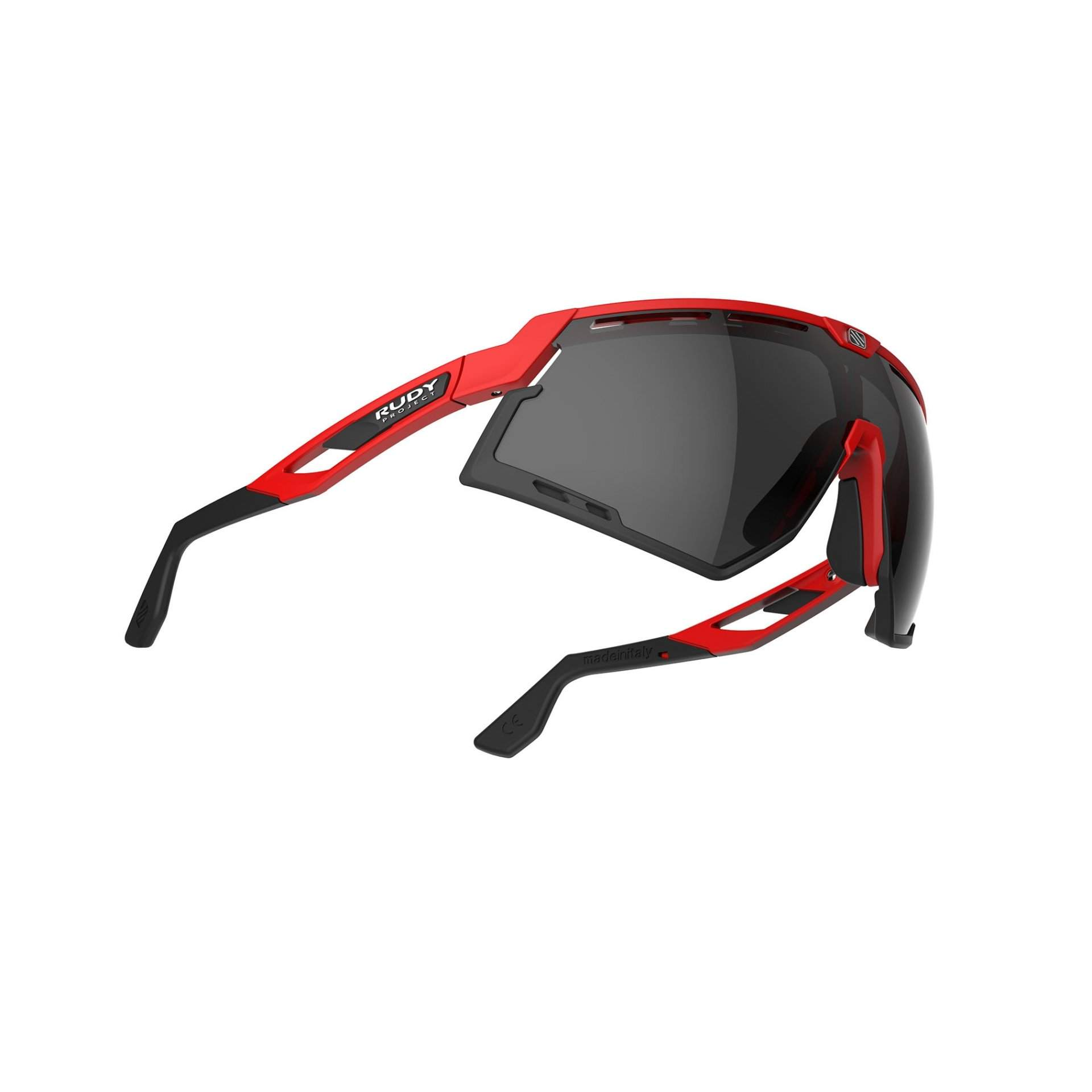 OKULARY RUDY PROJECT DEFENDER FIRE RED MATTE|SMOKE BLACK 3