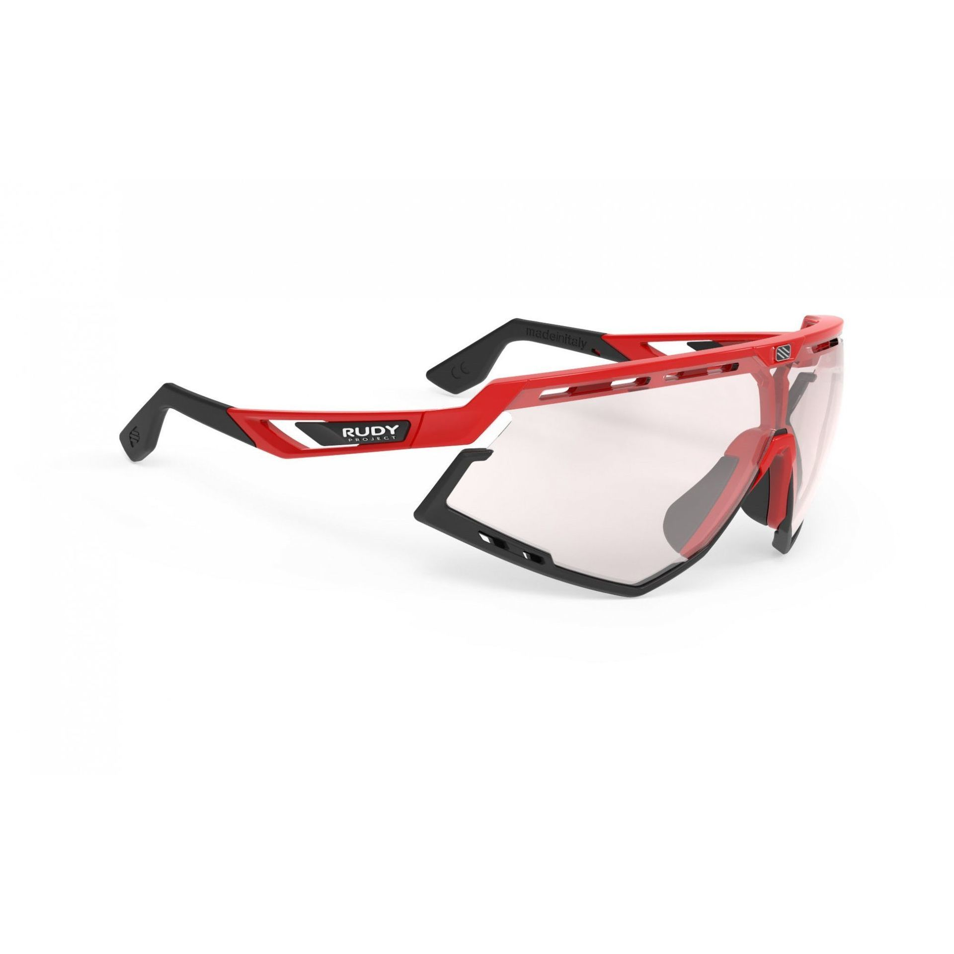 OKULARY RUDY PROJECT DEFENDER FIRE RED BLACK + IMPACTX PHOTOCHROMIC 2LASERRED SP528945 1