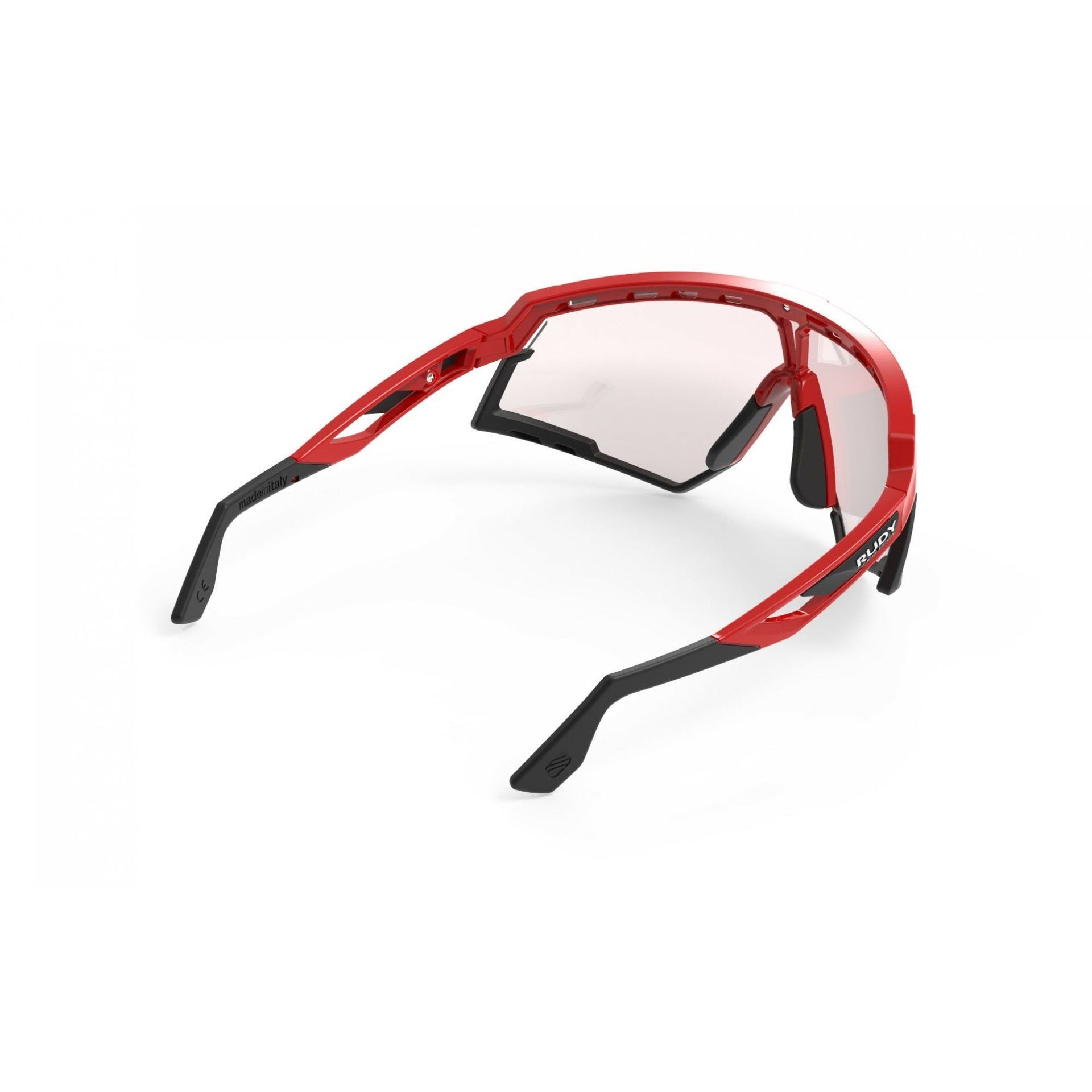 OKULARY RUDY PROJECT DEFENDER FIRE RED BLACK + IMPACTX PHOTOCHROMIC 2LASERRED SP528945 5