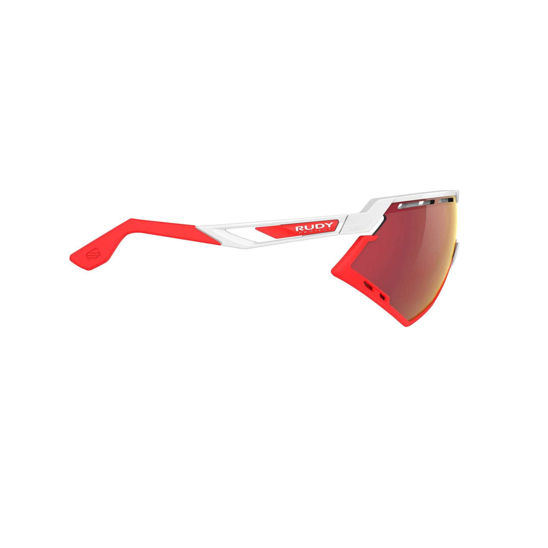 OKULARY RUDY PROJECT DEFENDER MULTILASER RED + WHITE GLOSS|BUMPRES RED FLUO SP5238690000 Z BOKU
