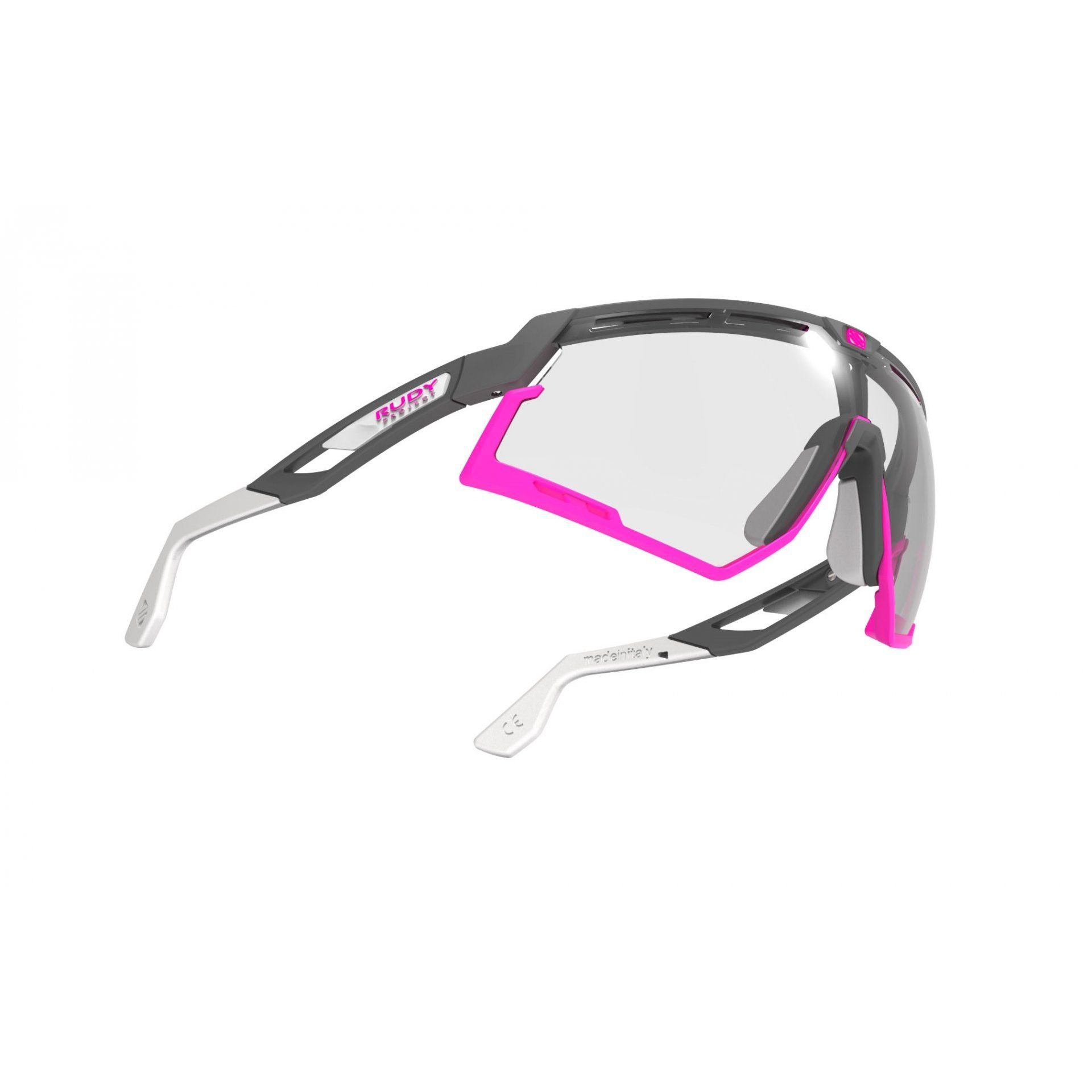 OKULARY RUDY PROJECT DEFENDER PYOMBO MATTE|FUXIA+PHOTOCHROMIC BLACK 3