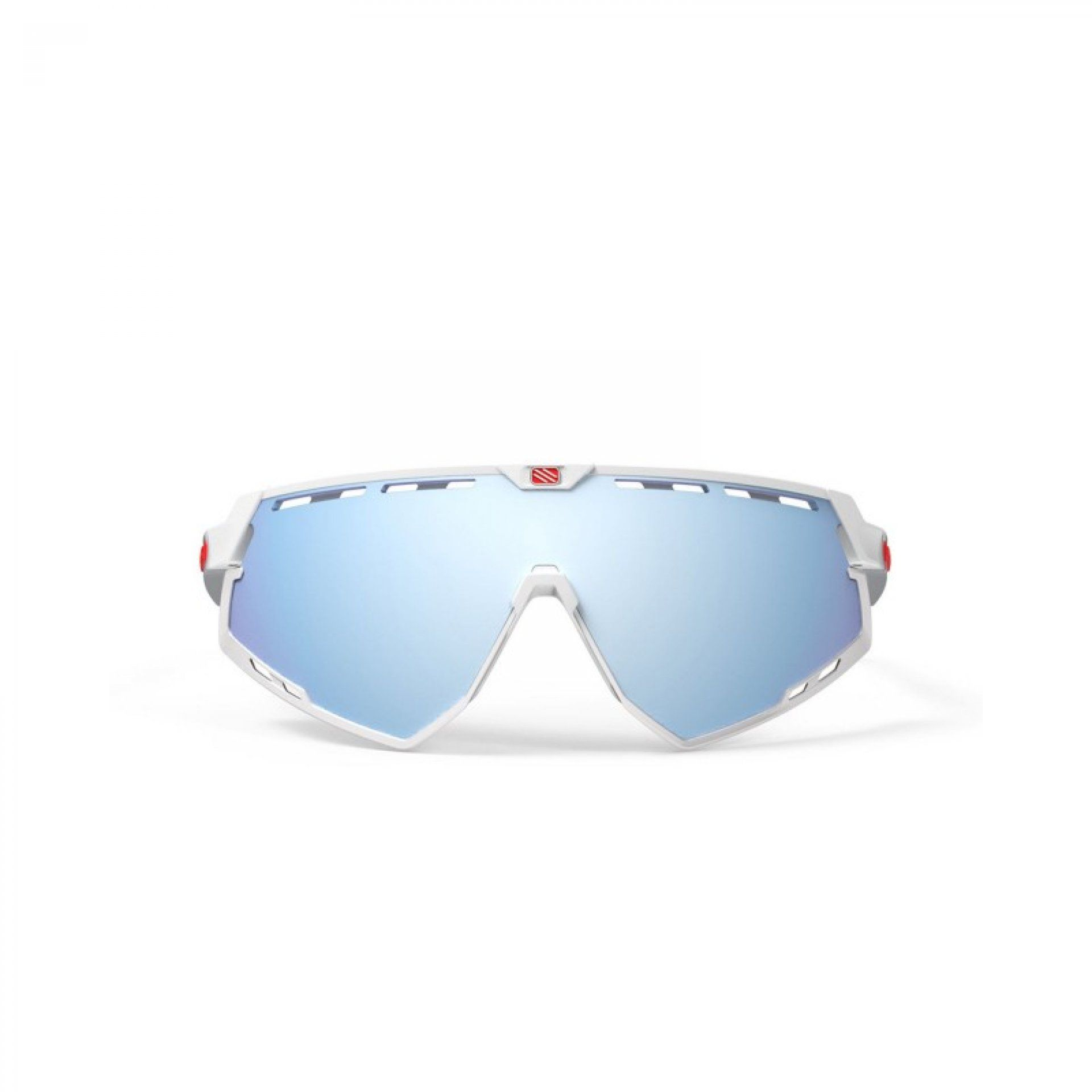 OKULARY RUDY PROJECT DEFENDER WHITE GLOSSY + MULTILASER ICE 2
