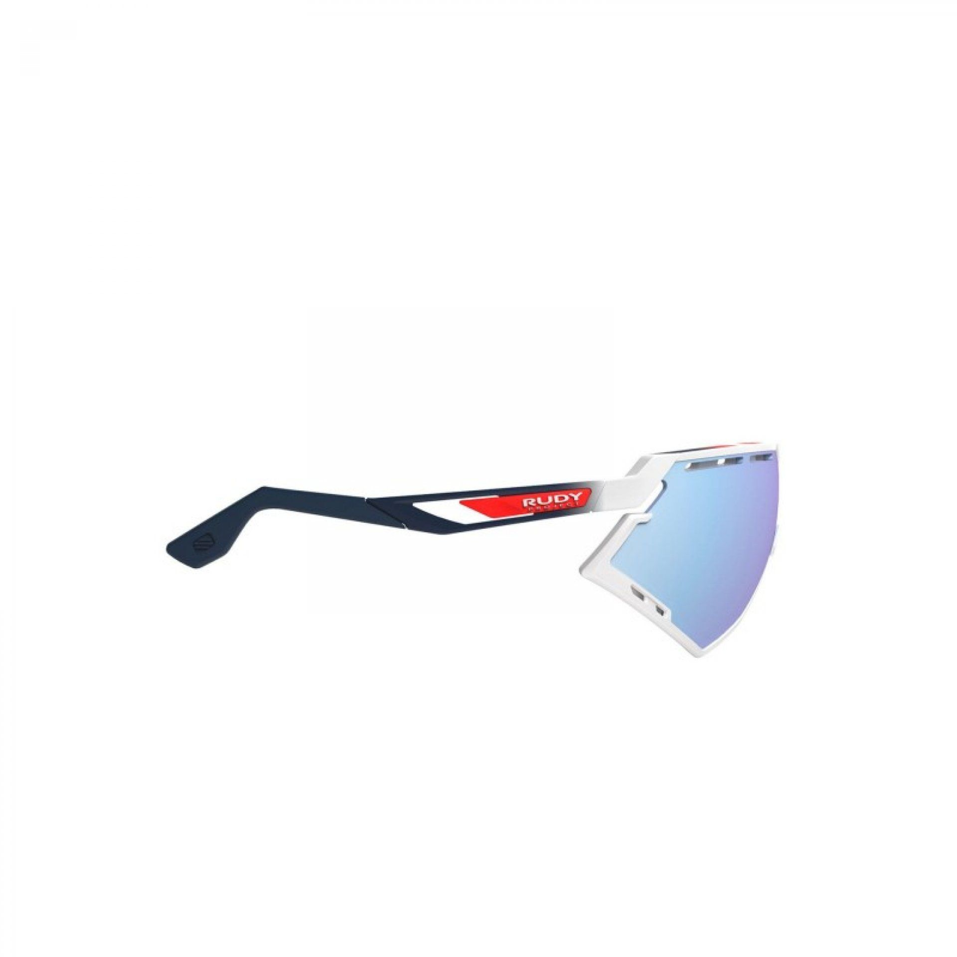 OKULARY RUDY PROJECT DEFENDER WHITE GLOSSY + MULTILASER ICE 3