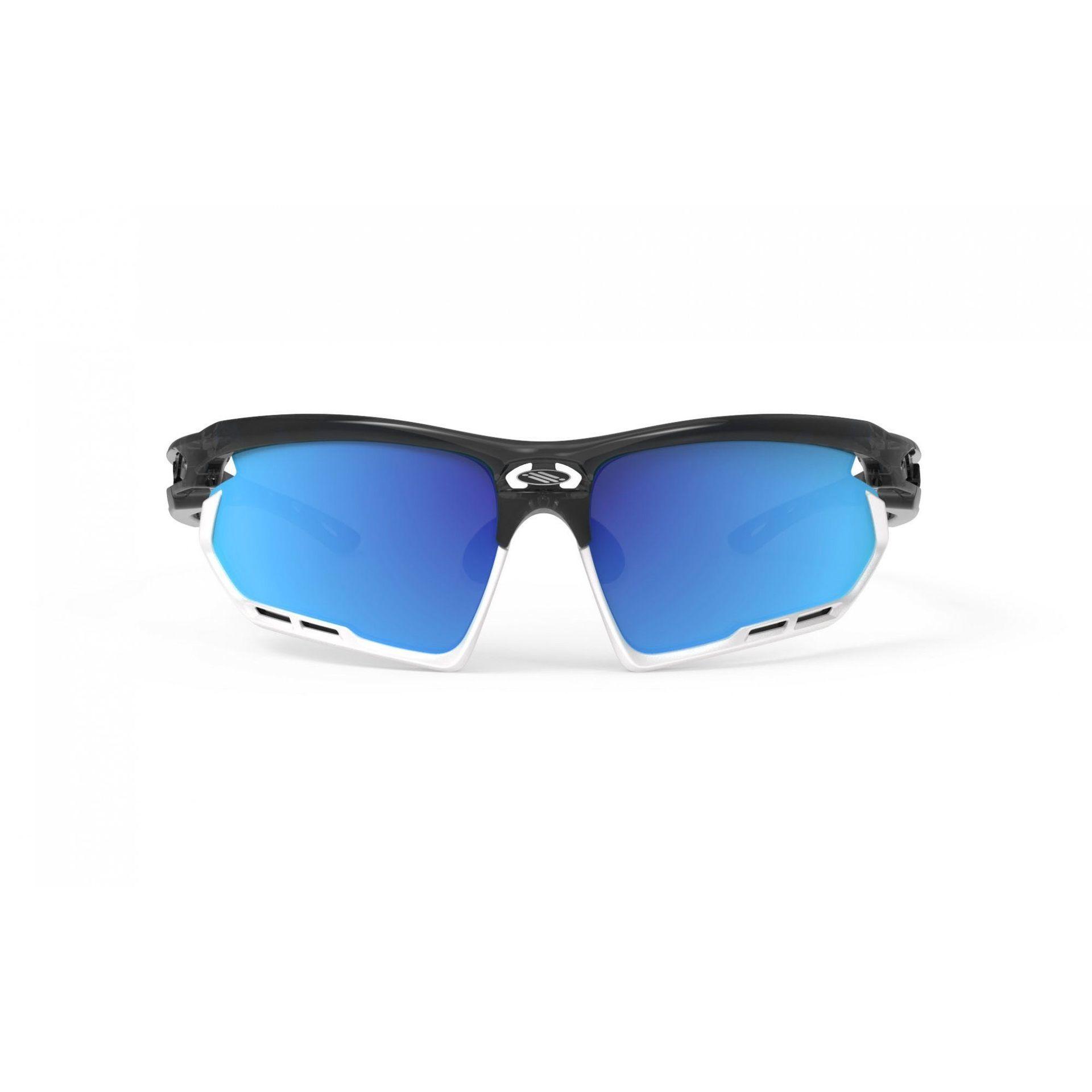 OKULARY RUDY PROJECT FOTONYK GRAPHITE|WHITE + ML BLUE SP453995 2