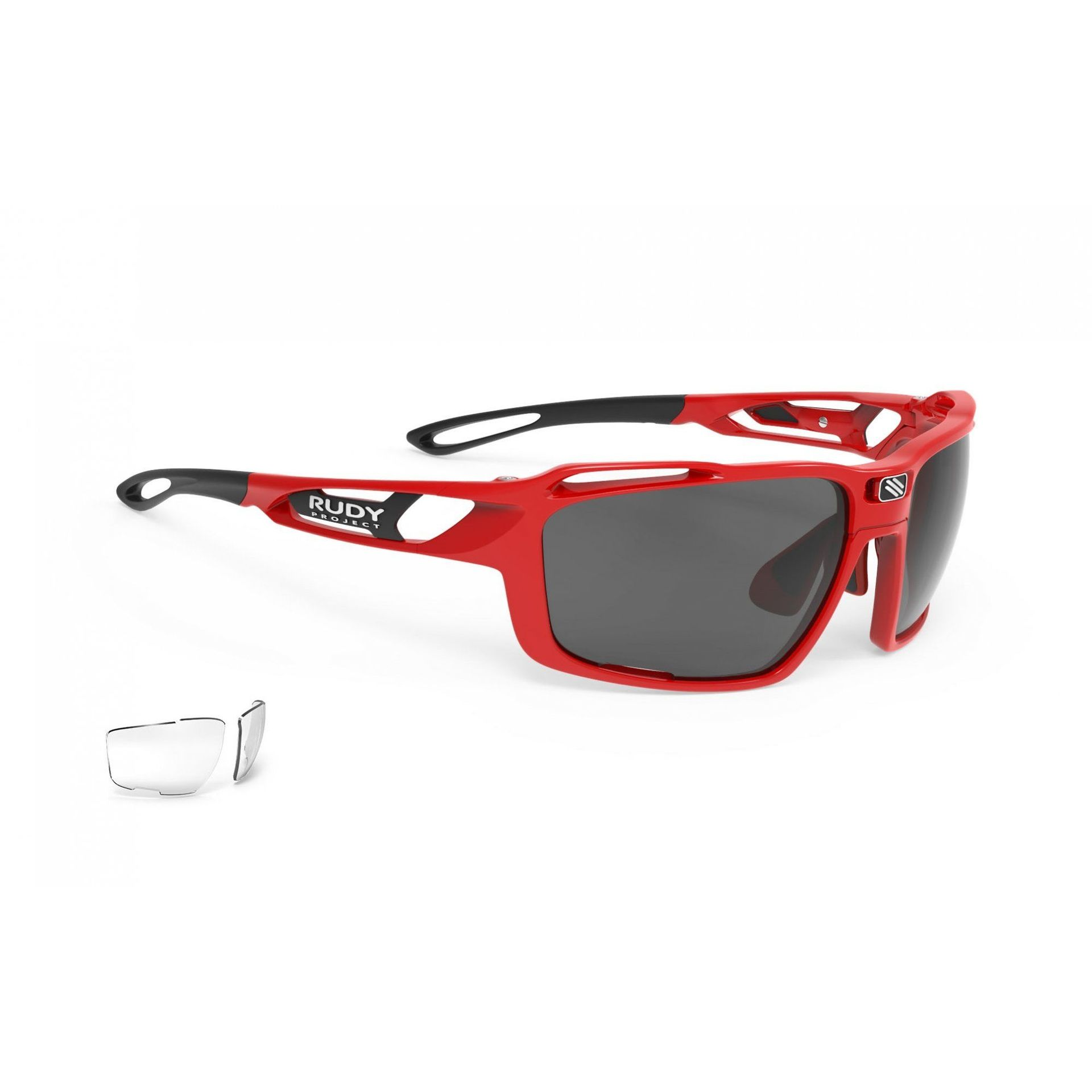 OKULARY RUDY PROJECT SINTRYX FIRE RED + SMOKE|TRANS SP491045 1