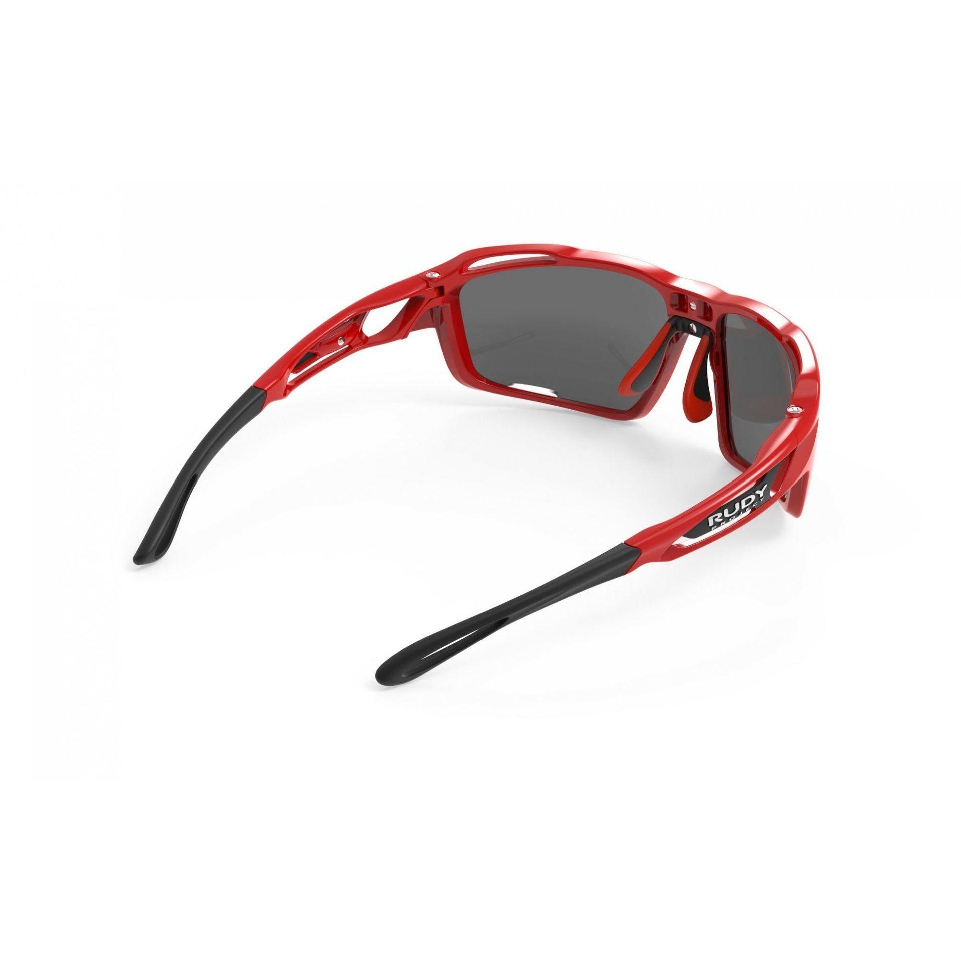 OKULARY RUDY PROJECT SINTRYX FIRE RED + SMOKE|TRANS SP491045 5