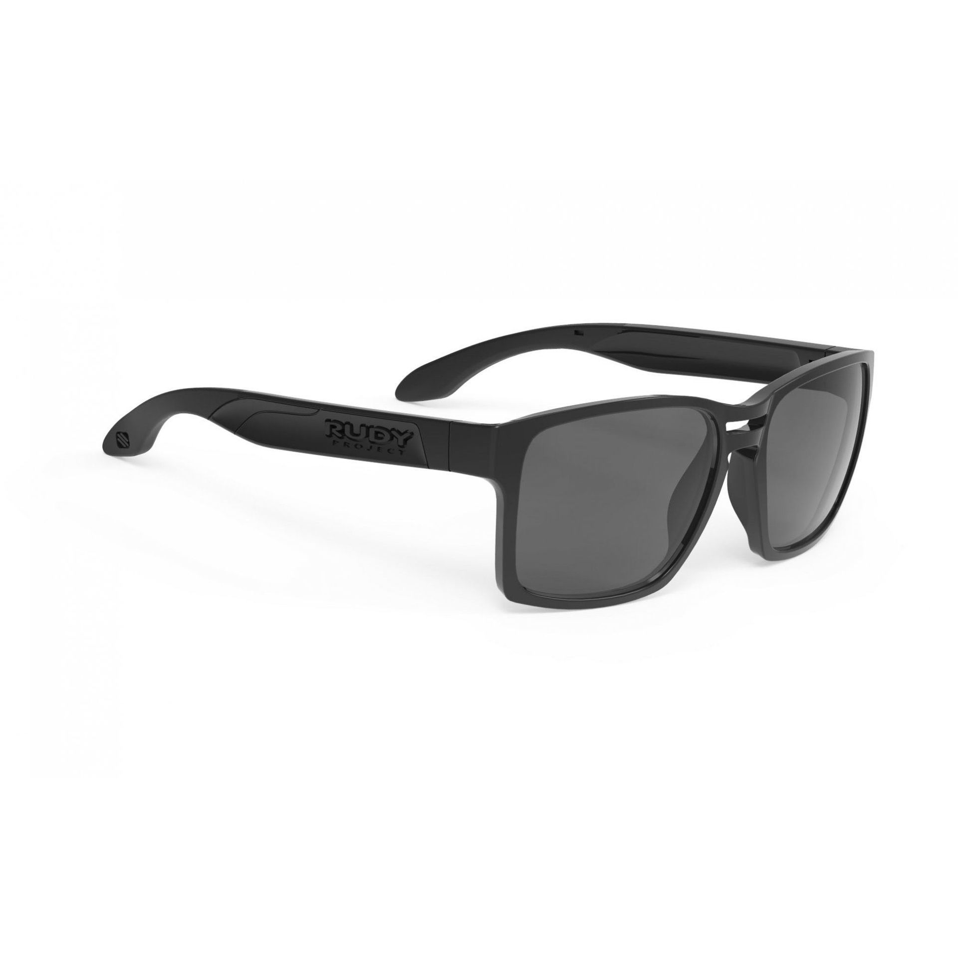 OKULARY RUDY PROJECT SPINAIR 57 BLACK + SMOKE BLACK SP571042 1