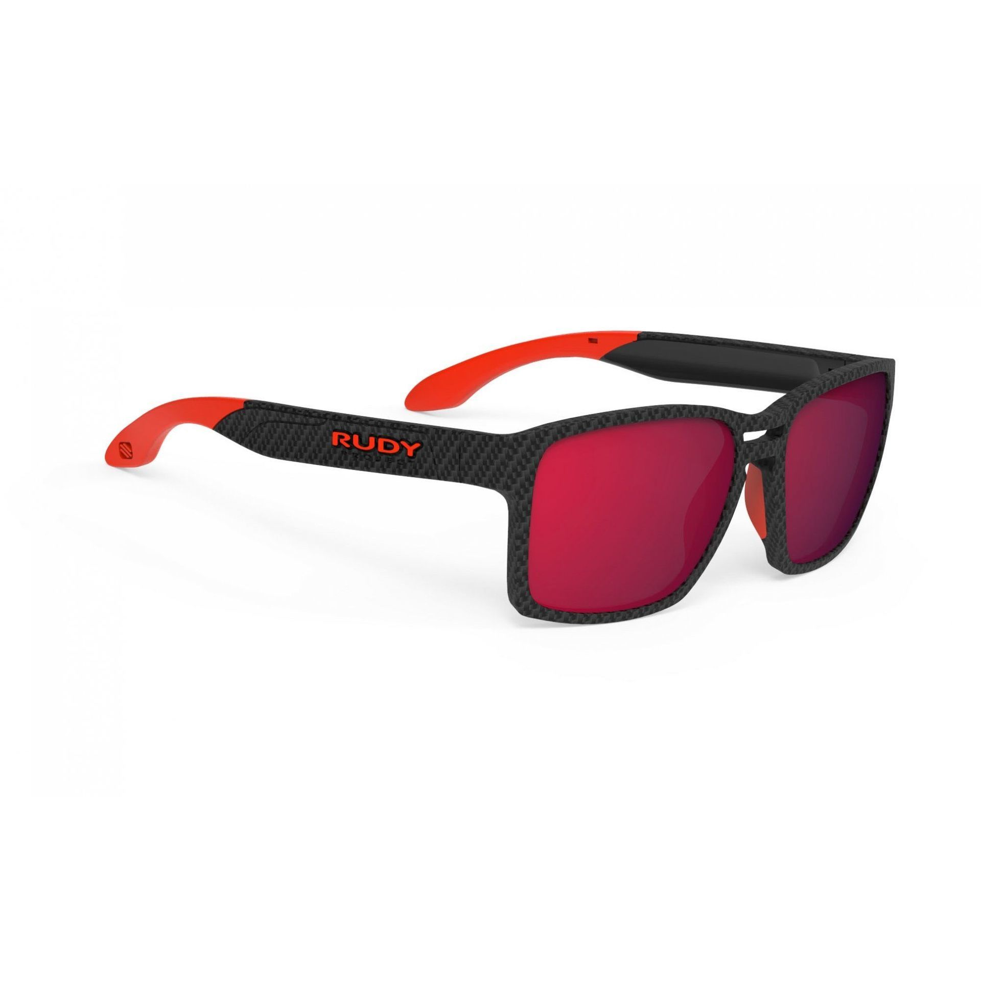 OKULARY RUDY PROJECT SPINAIR 57 CARBONIUM + ML RED SP573819 1