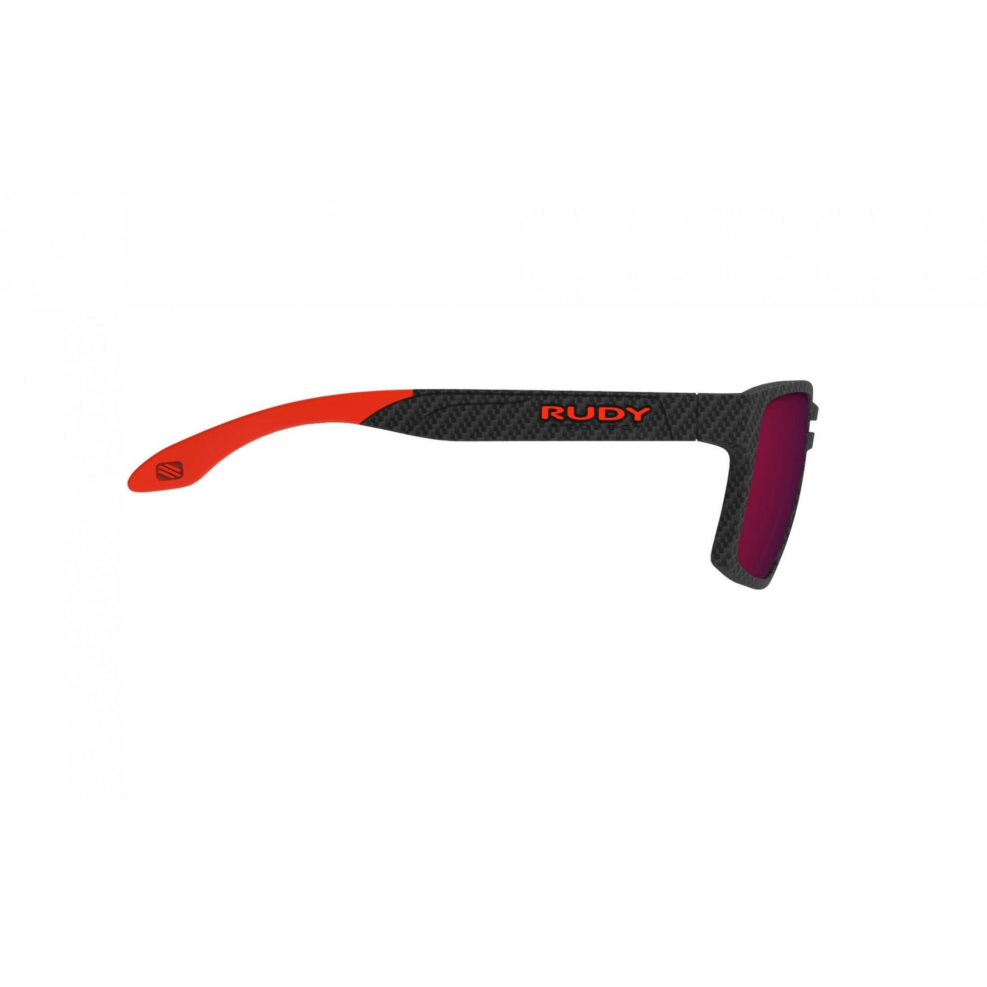 OKULARY RUDY PROJECT SPINAIR 57 CARBONIUM + ML RED SP573819 2