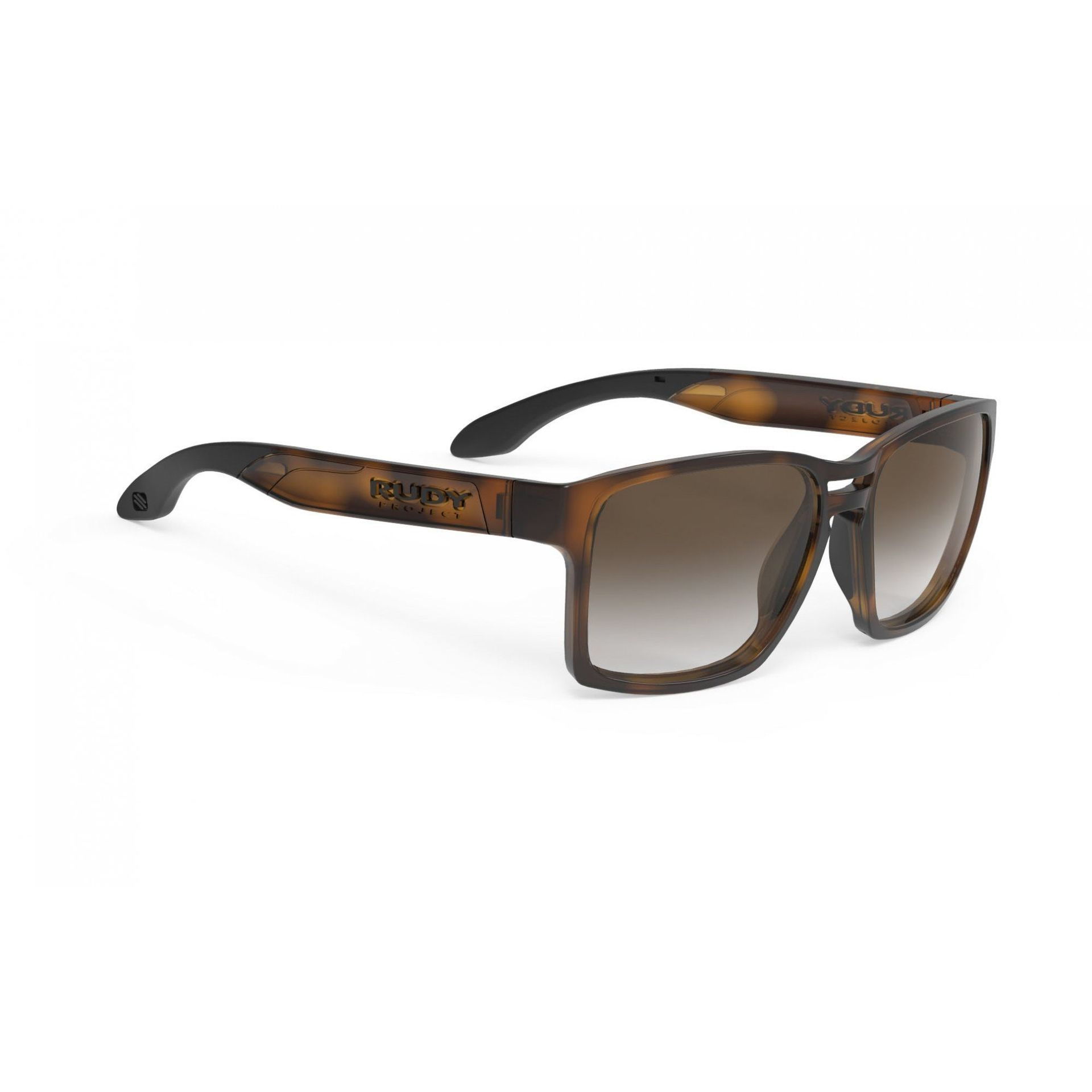 OKULARY RUDY PROJECT SPINAIR 57 DEMI TURTLE + BROWN DEG SP573650 1