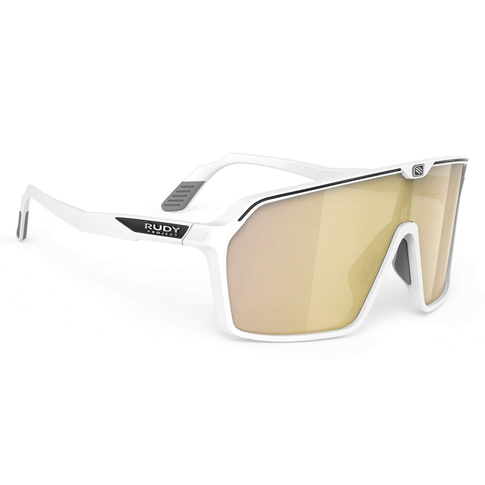 OKULARY RUDY PROJECT SPINSHIELD MULTILASER GOLD + WHITE MATTE SP7257580000