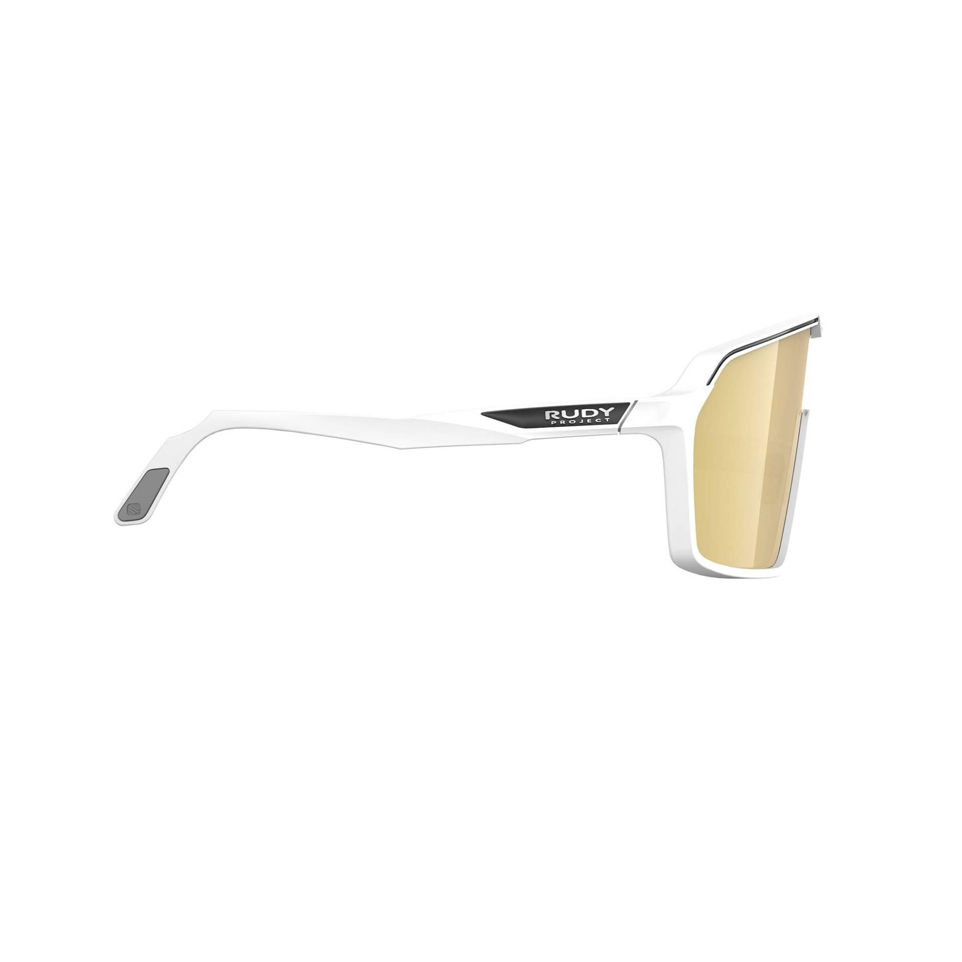 OKULARY RUDY PROJECT SPINSHIELD MULTILASER GOLD + WHITE MATTE SP7257580000 Z BOKU