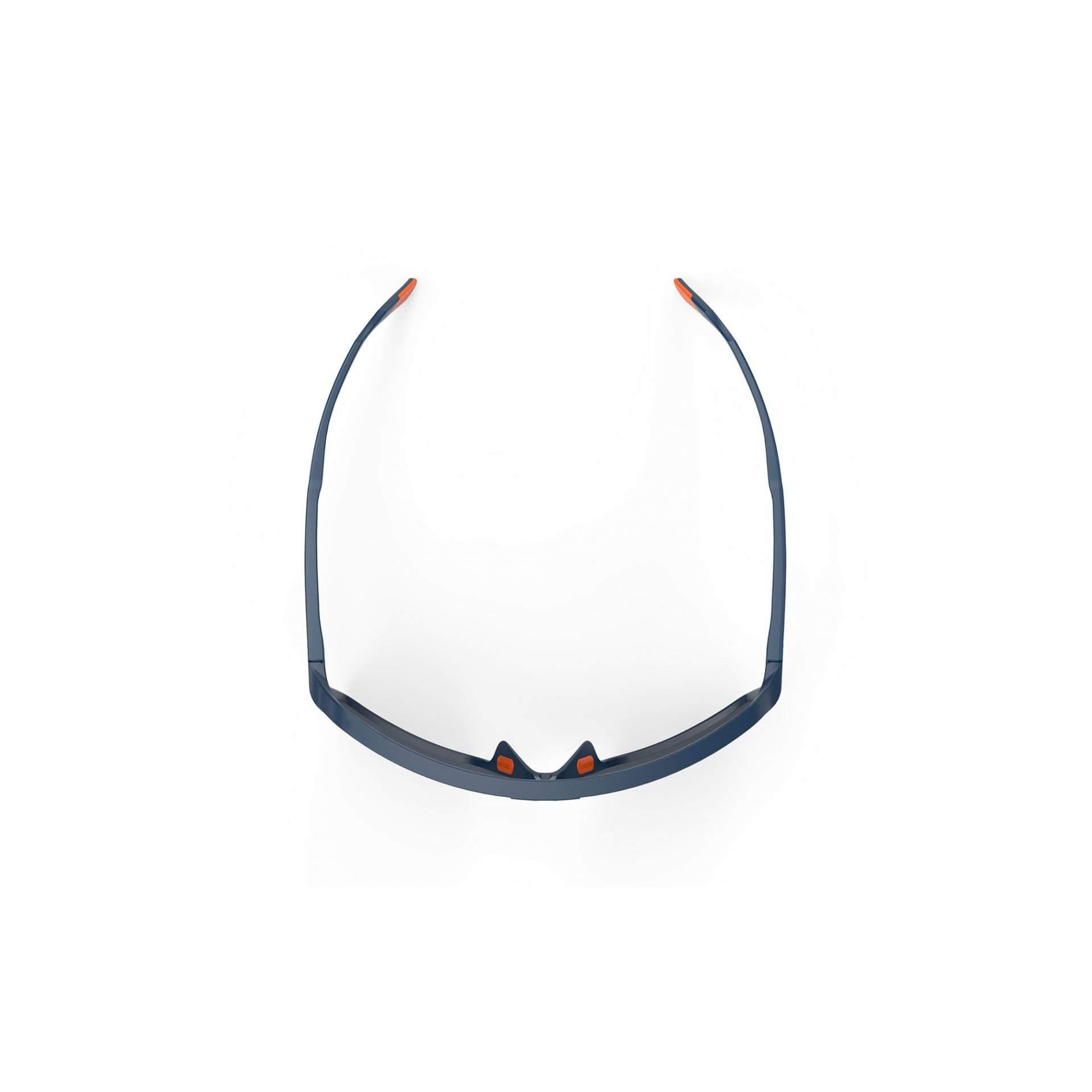 OKULARY RUDY PROJECT SPINSHIELD MULTILASER ORANGE + BLUE NAVY MATTE SP7240470000 Z GÓRY