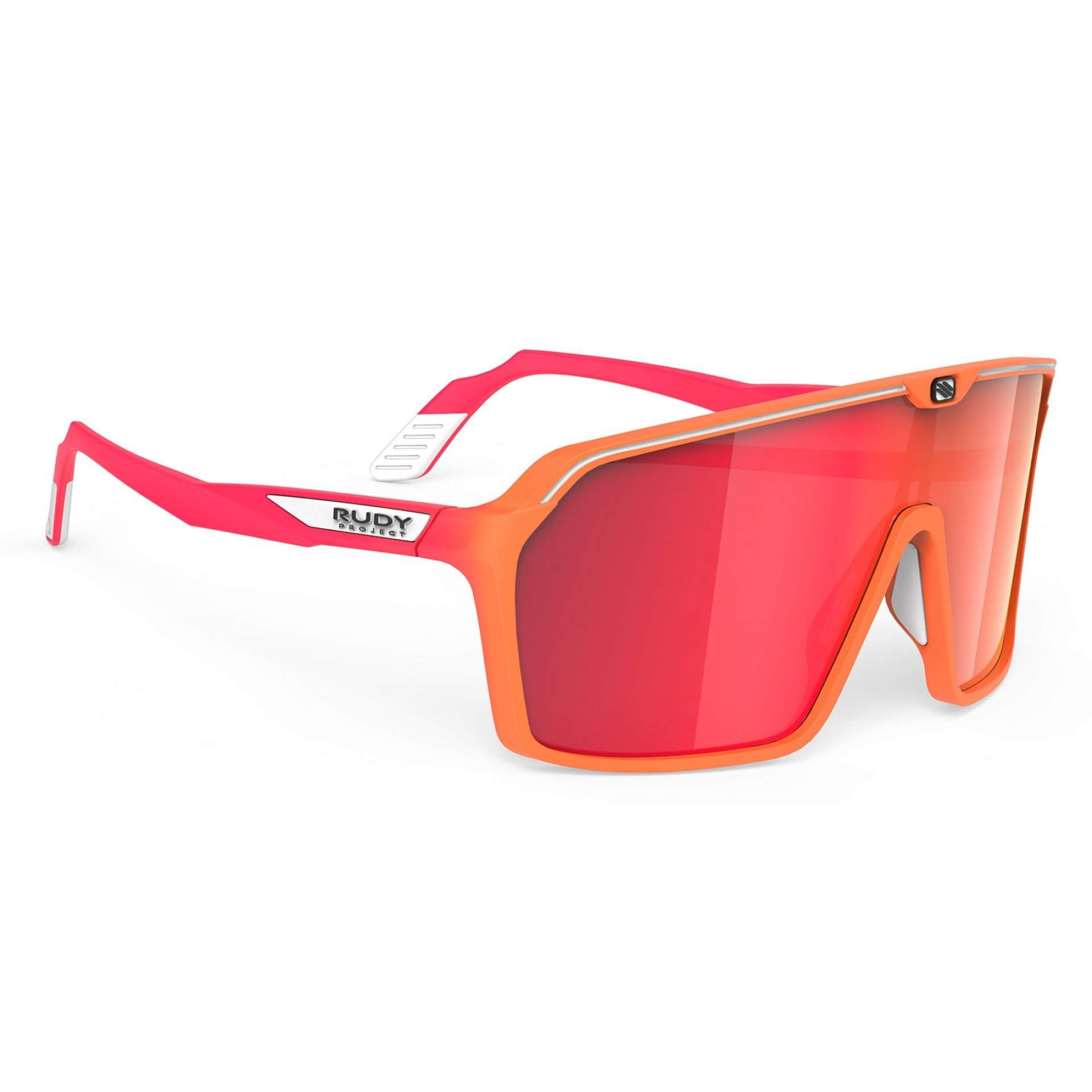 OKULARY RUDY PROJECT SPINSHIELD MULTILASER RED + MANDARIN FADE|CORAL MATTE SP7238460011