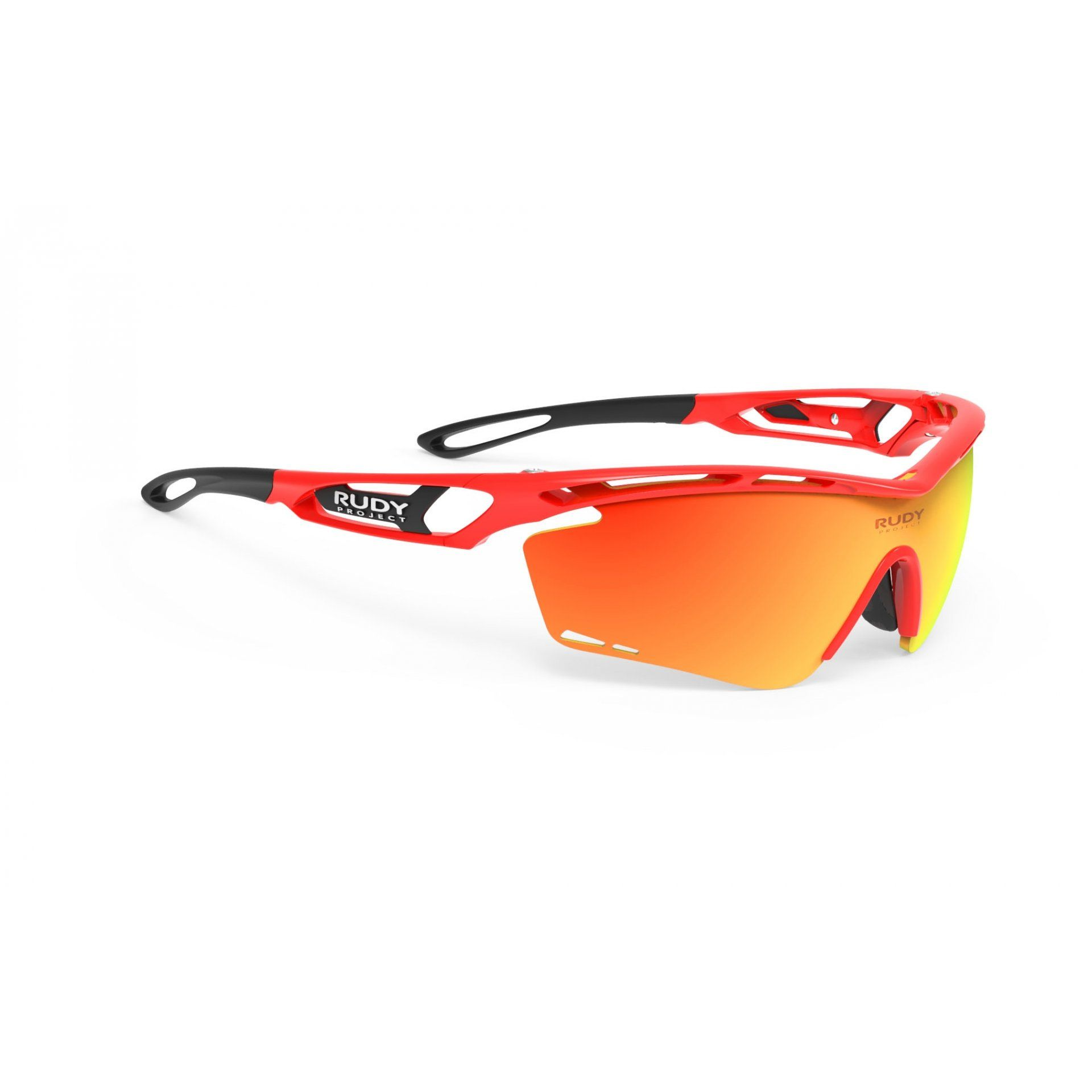 OKULARY RUDY PROJECT TRALYX RED FLUO+MULTILASER ORANGE 1