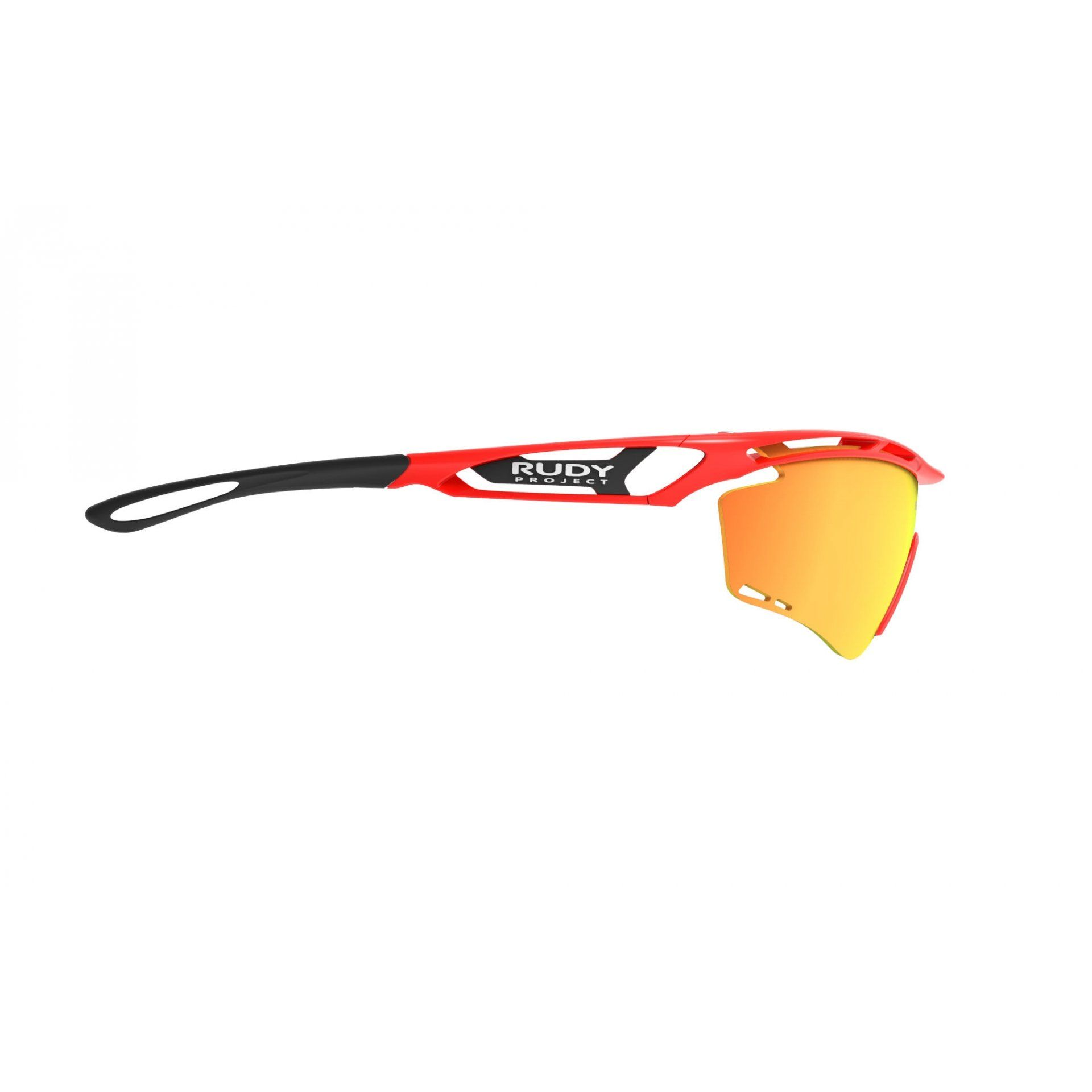 OKULARY RUDY PROJECT TRALYX RED FLUO+MULTILASER ORANGE 4