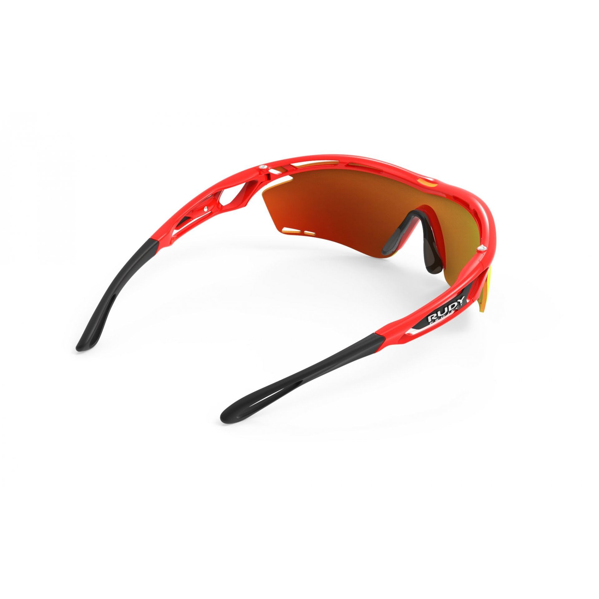 OKULARY RUDY PROJECT TRALYX RED FLUO+MULTILASER ORANGE 5