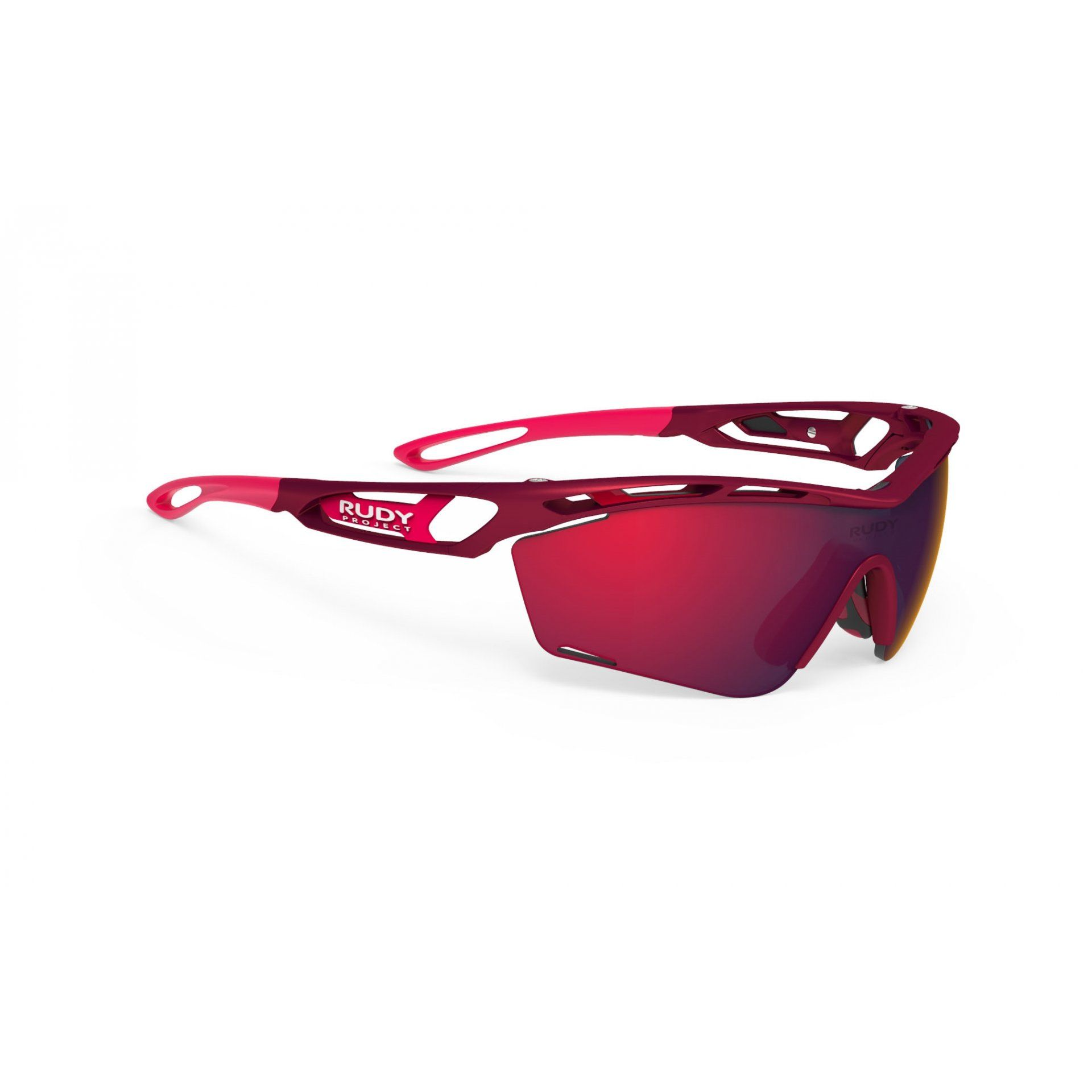 OKULARY RUDY PROJECT TRALYX SLIM MERLOT MATTE+MULTILASER RED 1