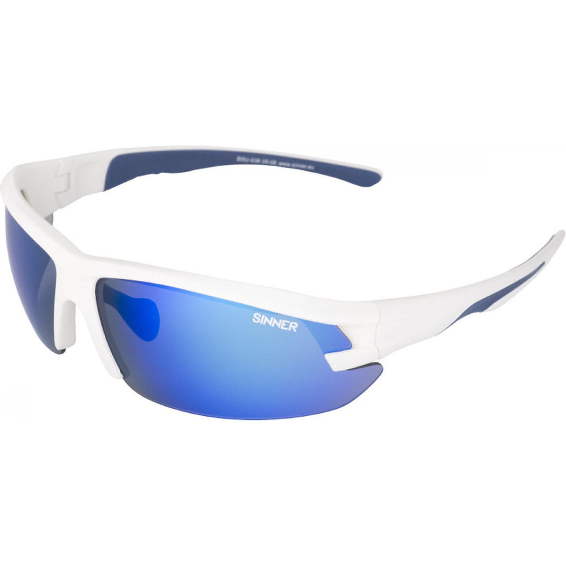 OKULARY SINNER SPEED WHITE BLUE 1