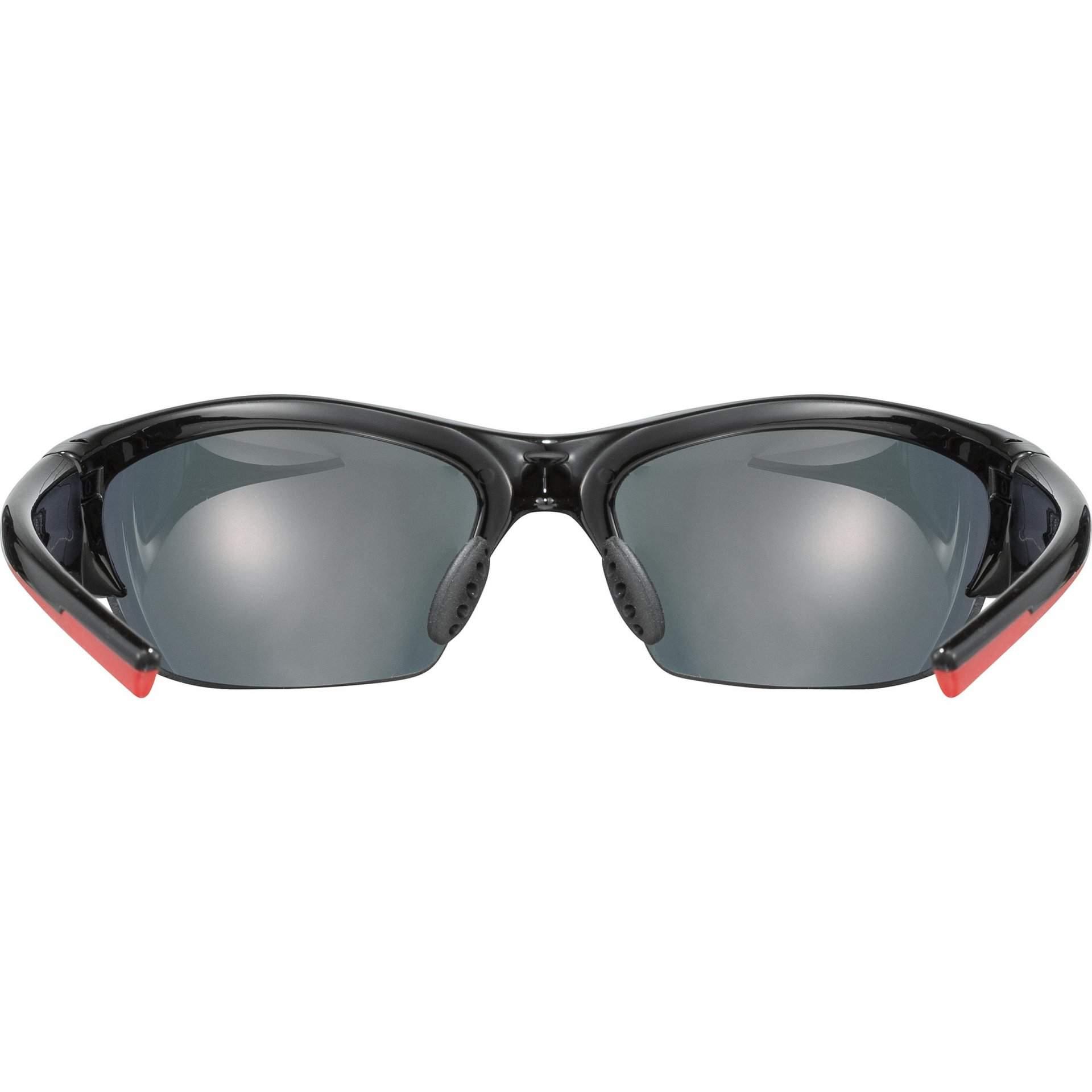 OKULARY UVEX BLAZE III 53|2|046|2316 BLACK RED W ŚRODKU