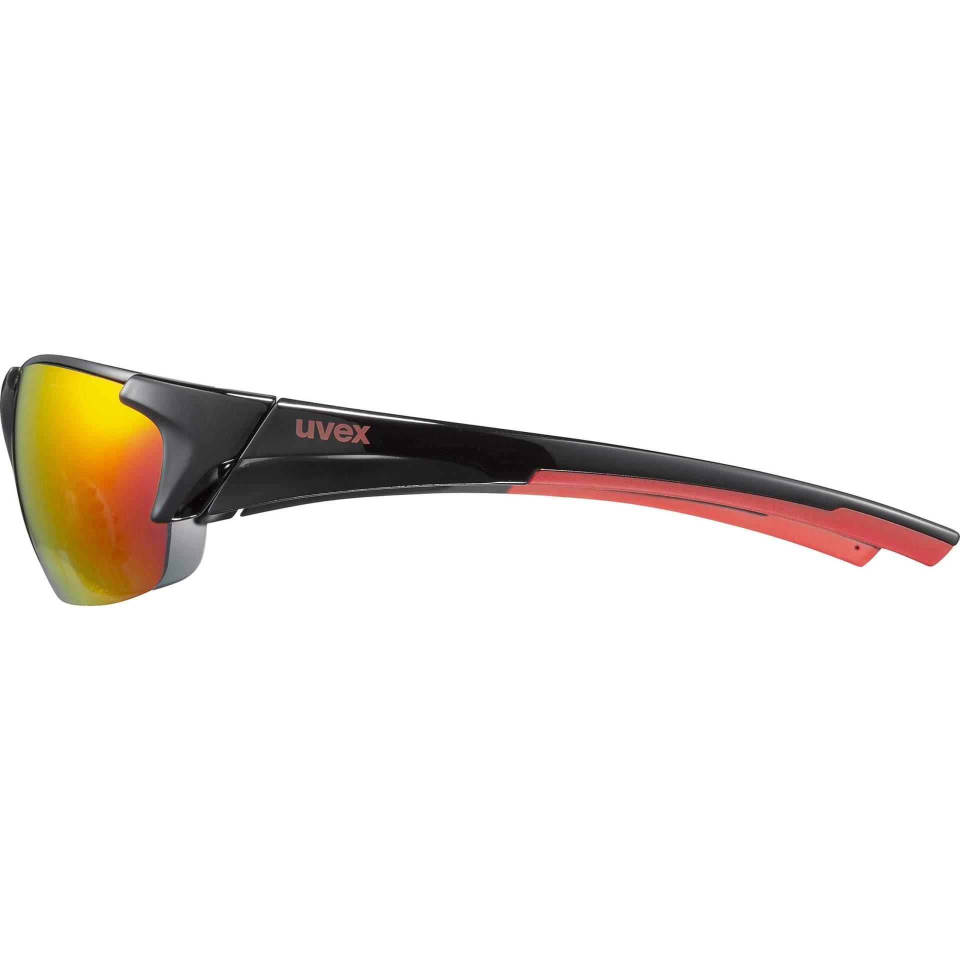 OKULARY UVEX BLAZE III 53|2|046|2316 BLACK RED Z BOKU