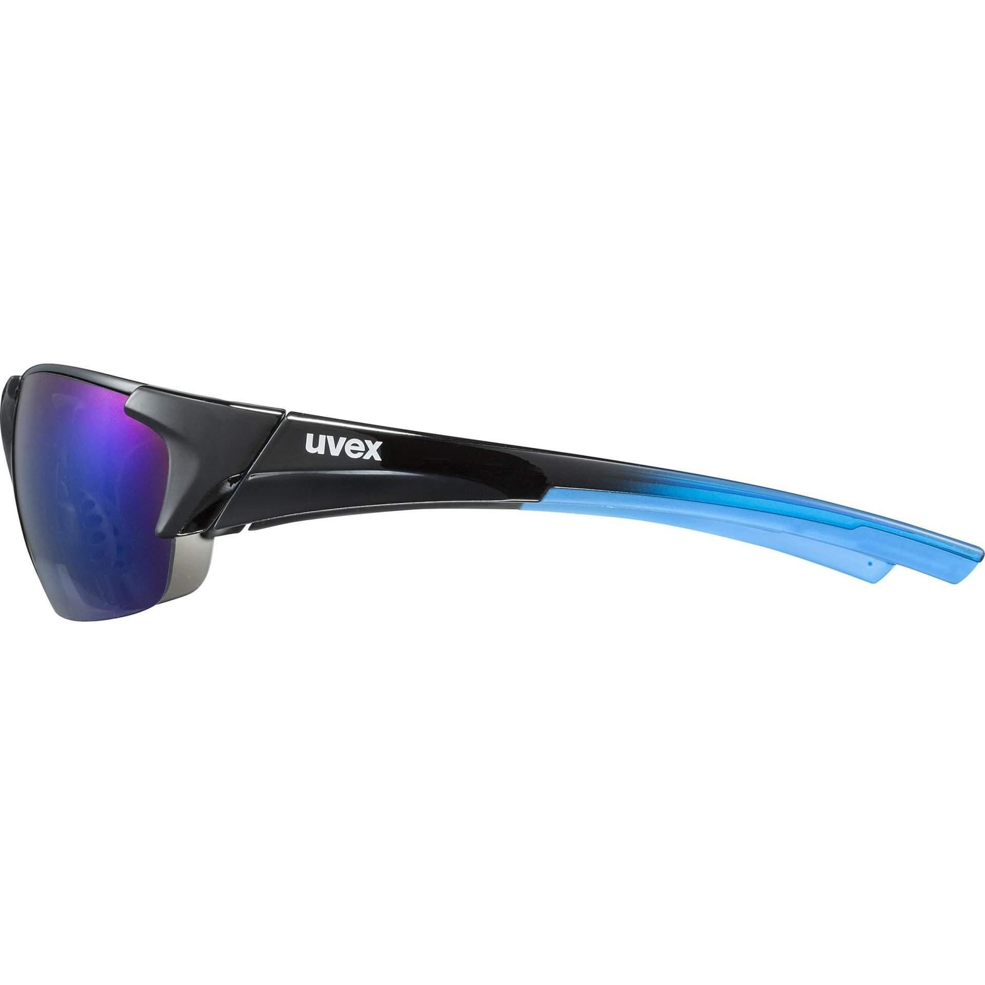 OKULARY UVEX BLAZE III 53|2|046|2416 BLACK BLUE Z BOKU