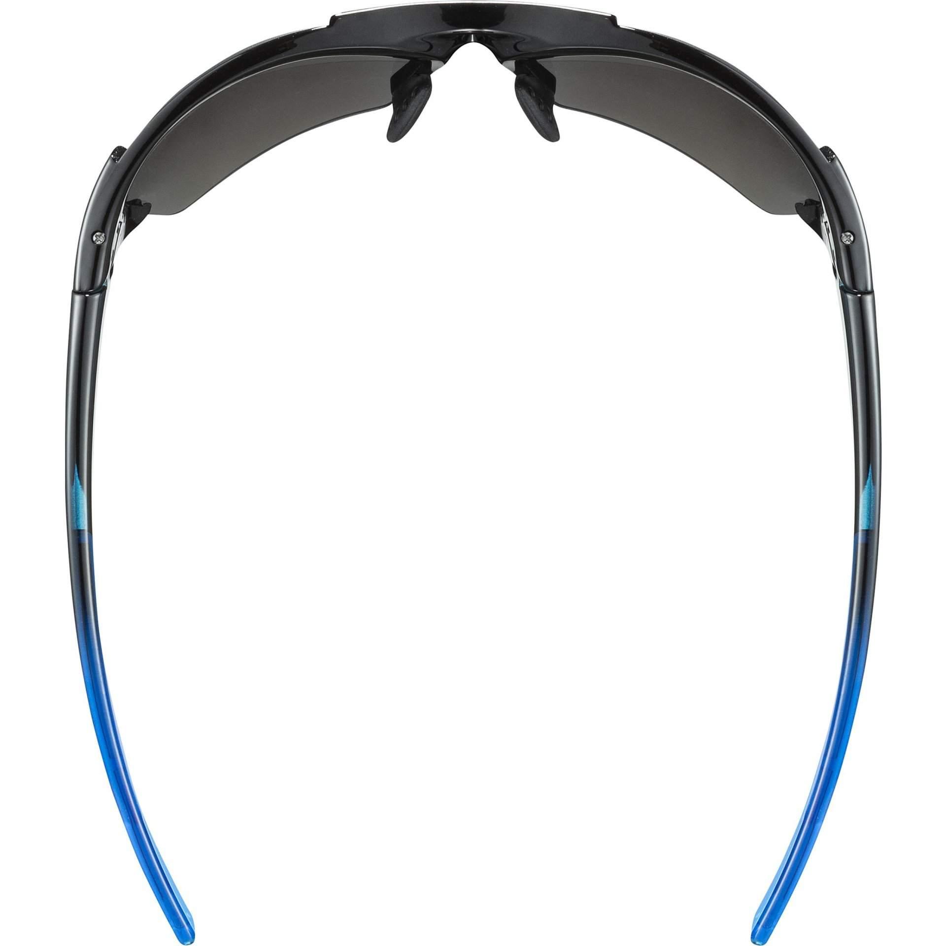 OKULARY UVEX BLAZE III 53|2|046|2416 BLACK BLUE Z GÓRY