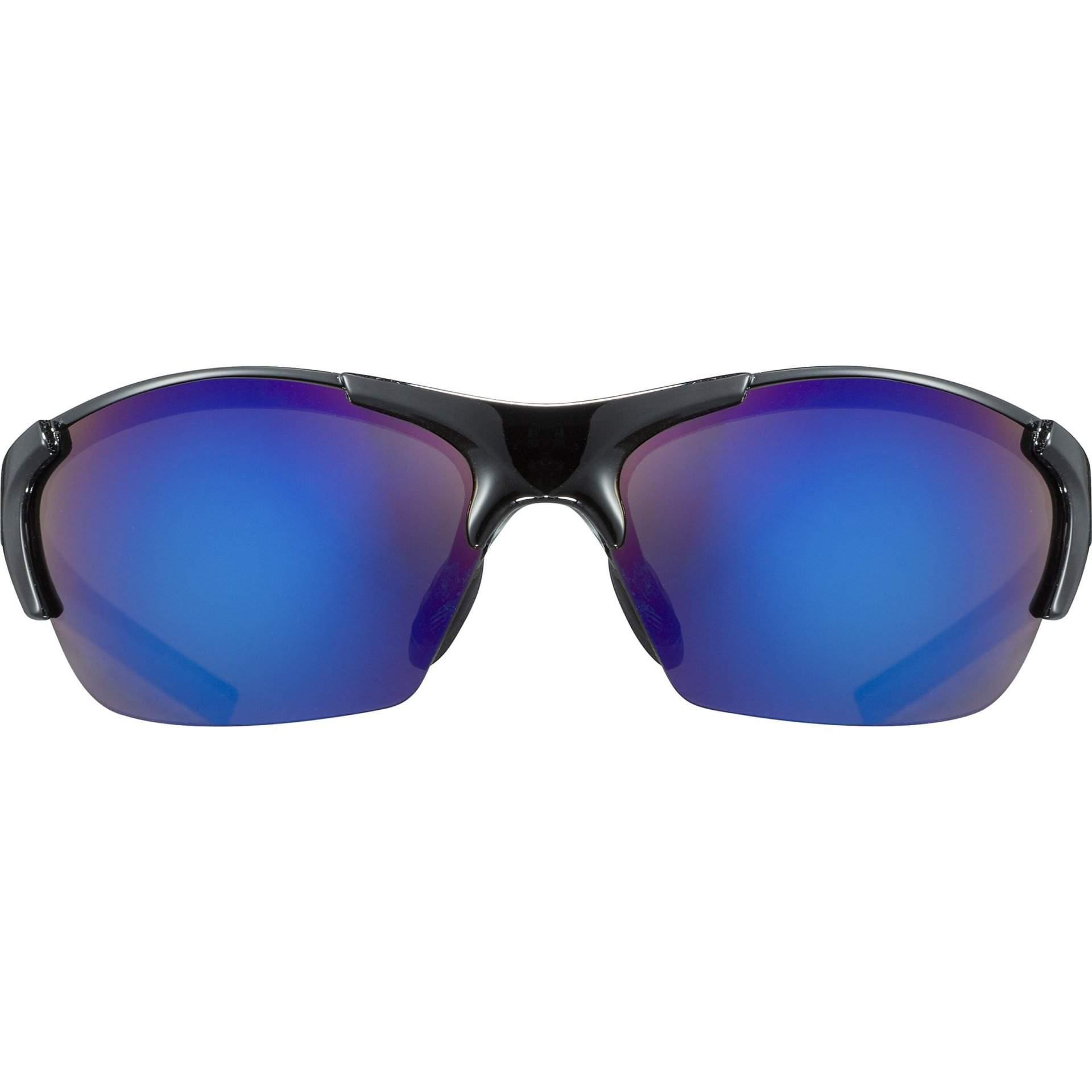 OKULARY UVEX BLAZE III 53|2|046|2416 BLACK BLUE Z PRZODU