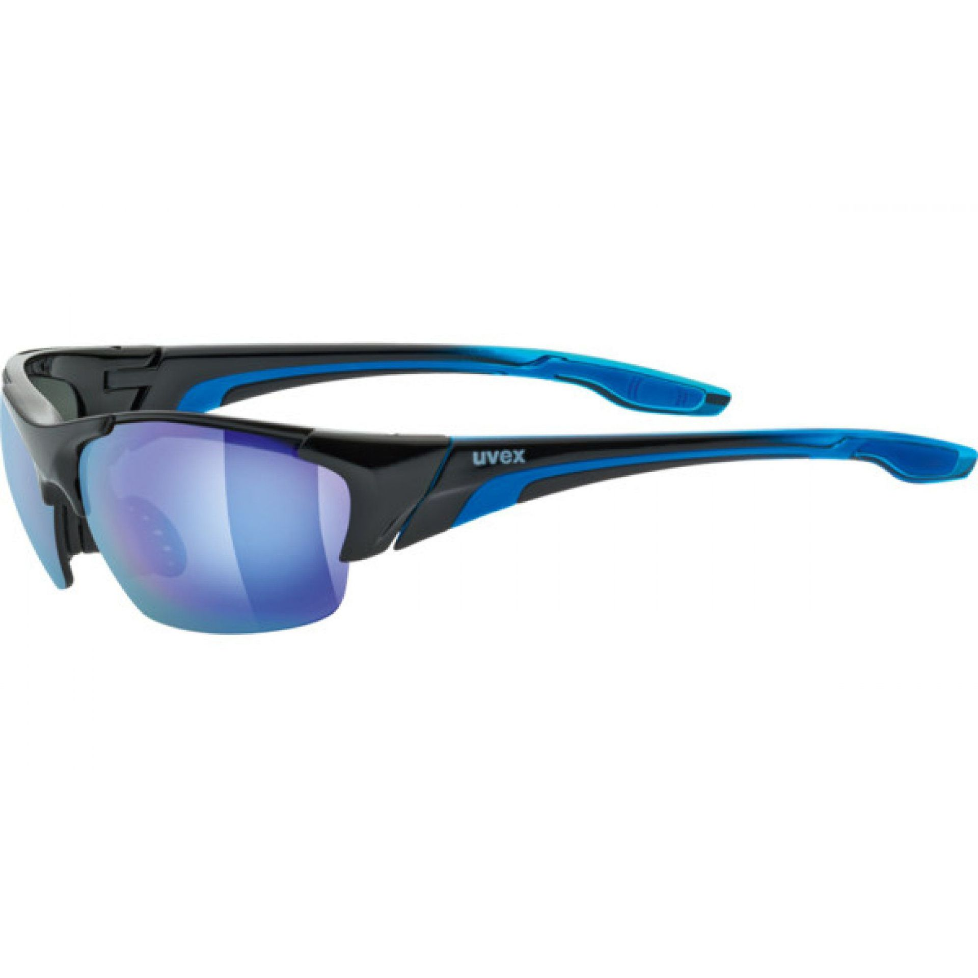 OKULARY UVEX BLAZE III 604|2416 BLACK|BLUE