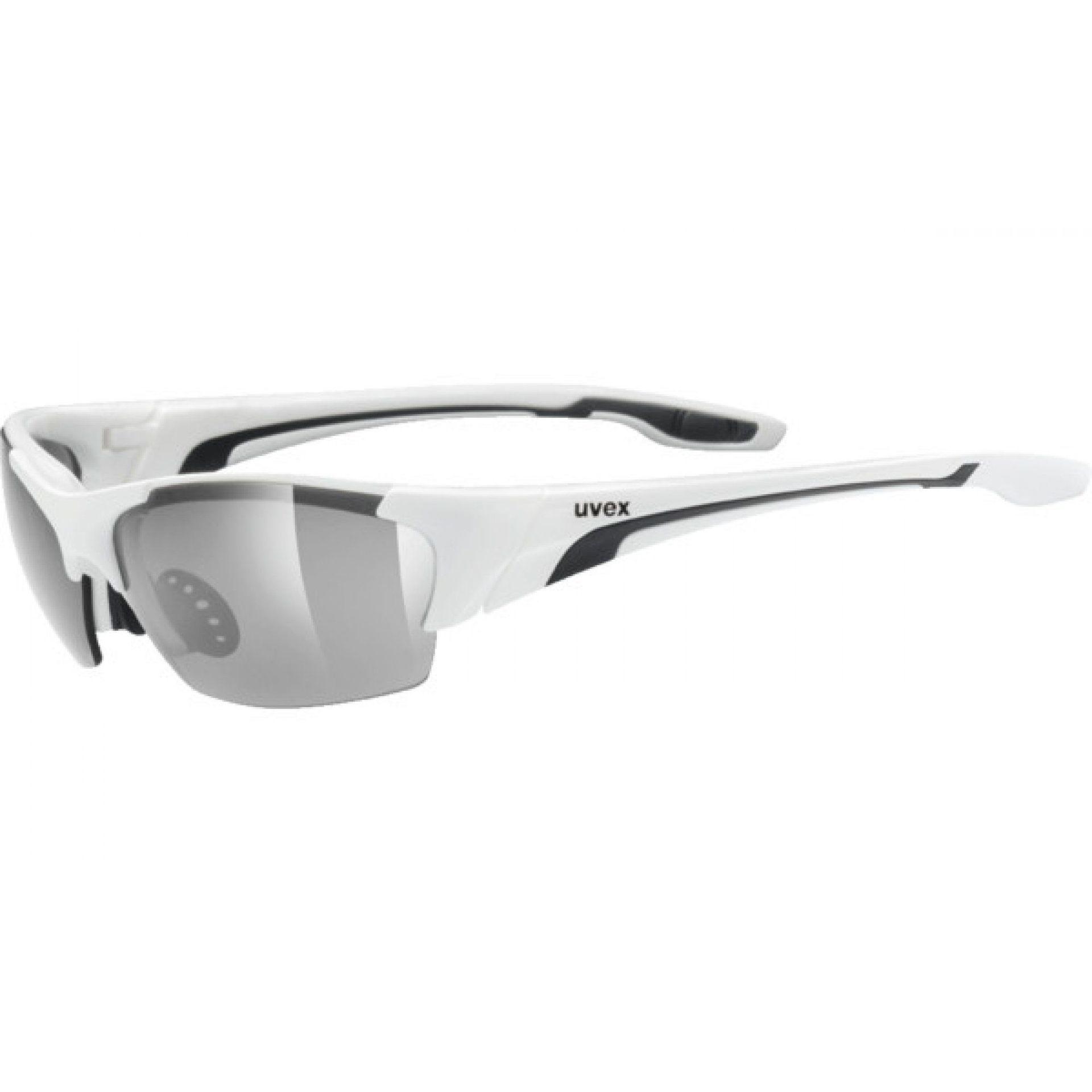 OKULARY UVEX BLAZE III 604|8216 WHITE|BLACK