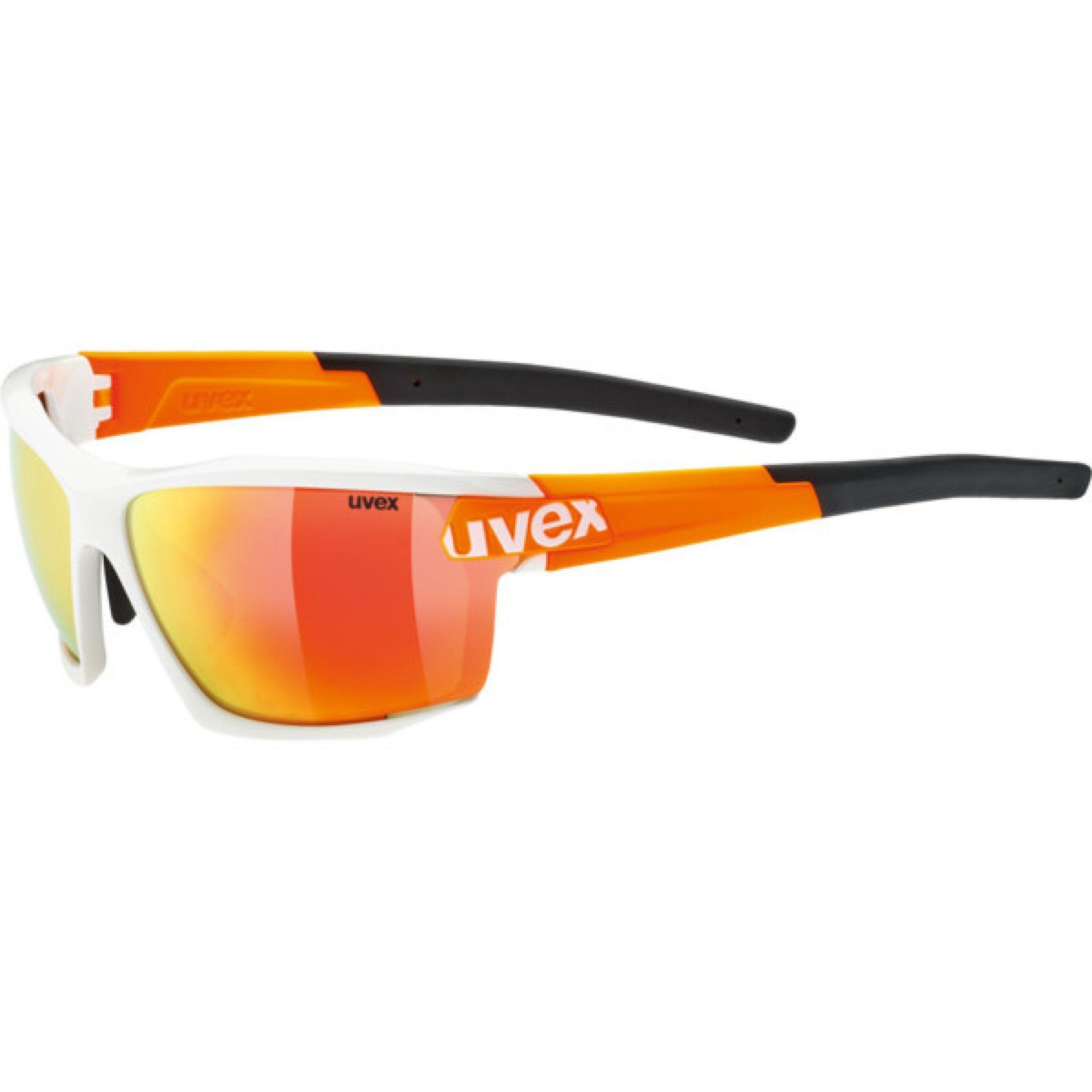 OKULARY UVEX SPORTSTYLE 113 890|8316 WHITE|ORANGE
