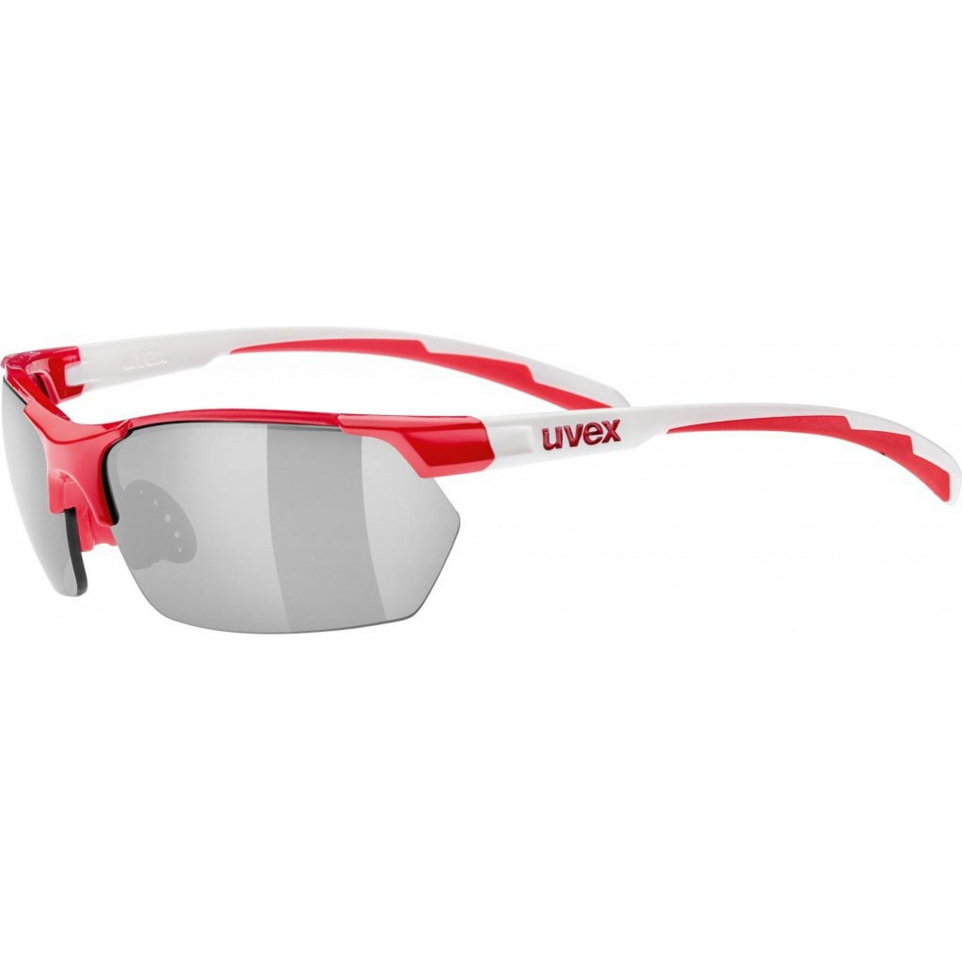 OKULARY UVEX SPORTSTYLE 114 RED WHITE