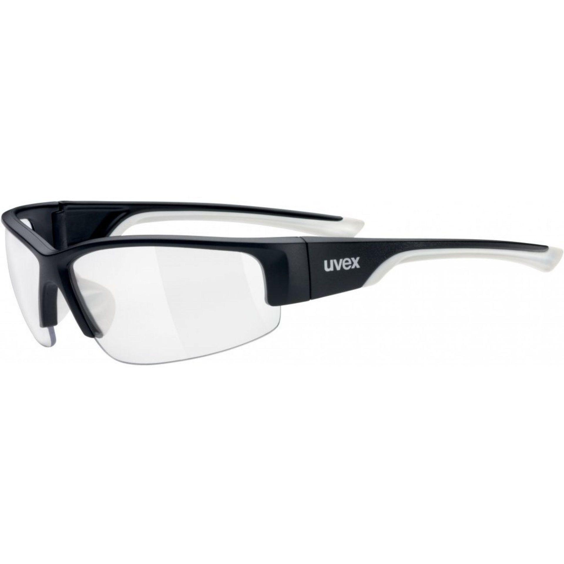 OKULARY UVEX SPORTSTYLE 215 BLACK MAT WHITE