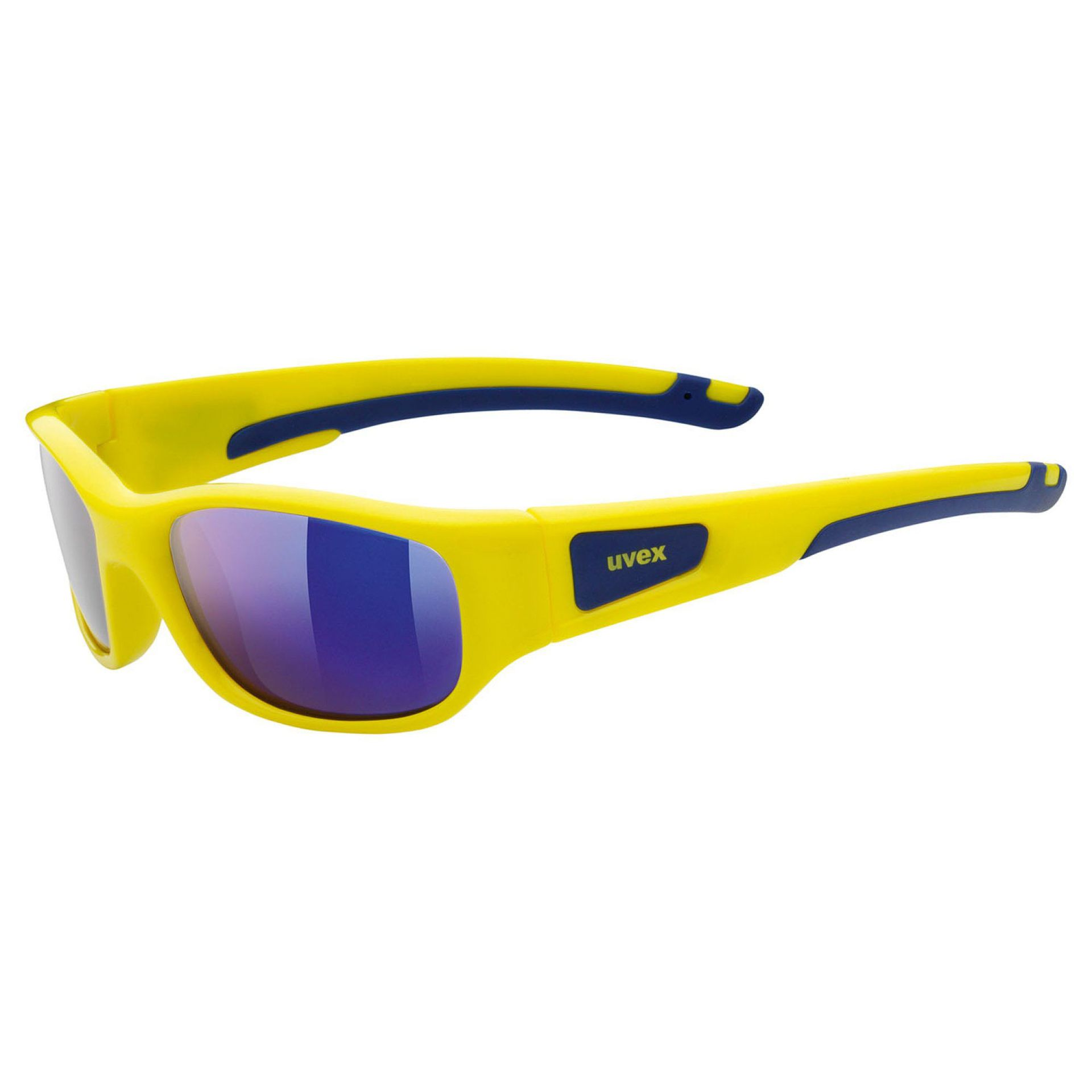OKULARY UVEX SPORTSTYLE 506 YELLOW|MIRROR BLUE