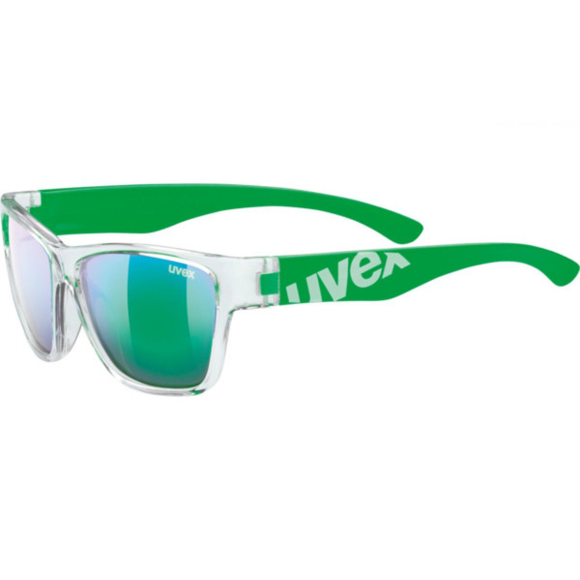 OKULARY UVEX SPORTSTYLE 508 895|9716 CLEAR GREEN