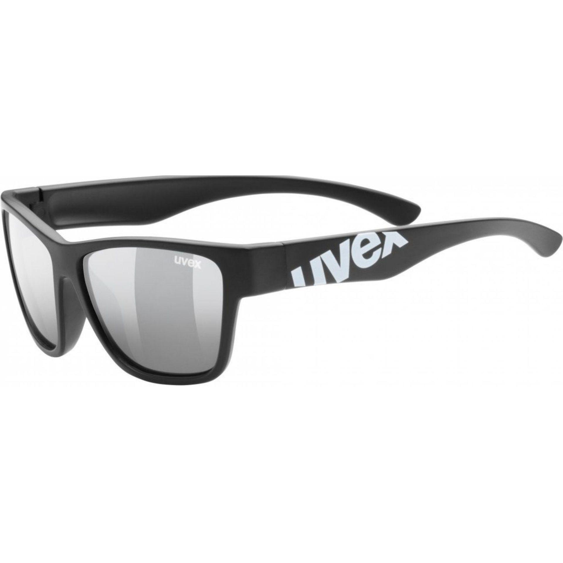 OKULARY UVEX SPORTSTYLE 508 BLACK MAT|SILVER