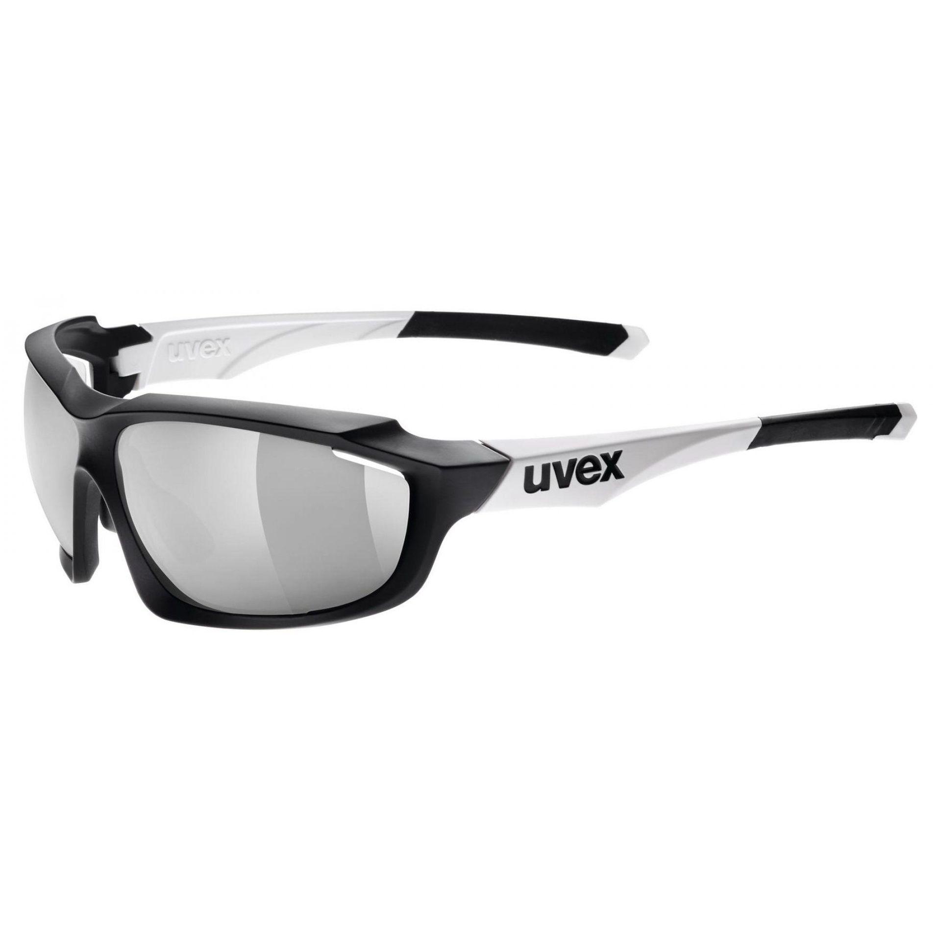 OKULARY UVEX SPORTSTYLE 710 VM BLACK WHITE